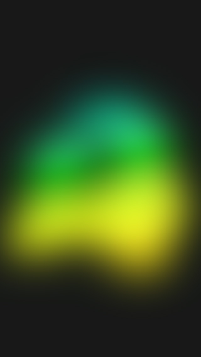 freeios8.com-iphone-4-5-6-plus-ipad-ios8-sk75-yellow-green-ufo-blur-gradation