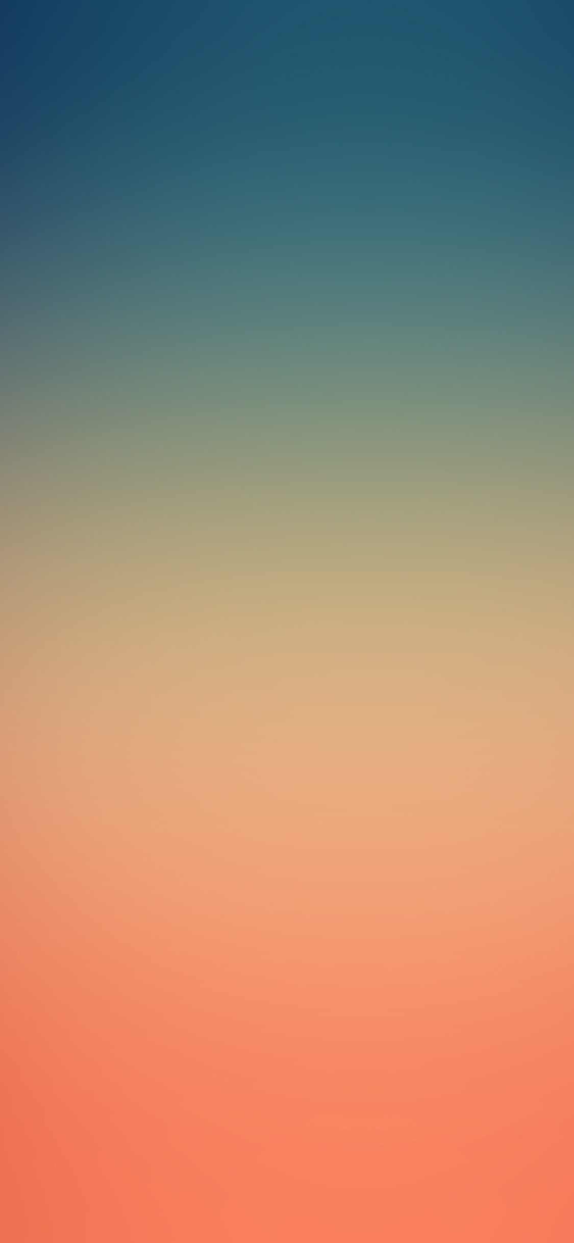 papers.co sk83 blue orange night blur gradation 41 iphone wallpaper