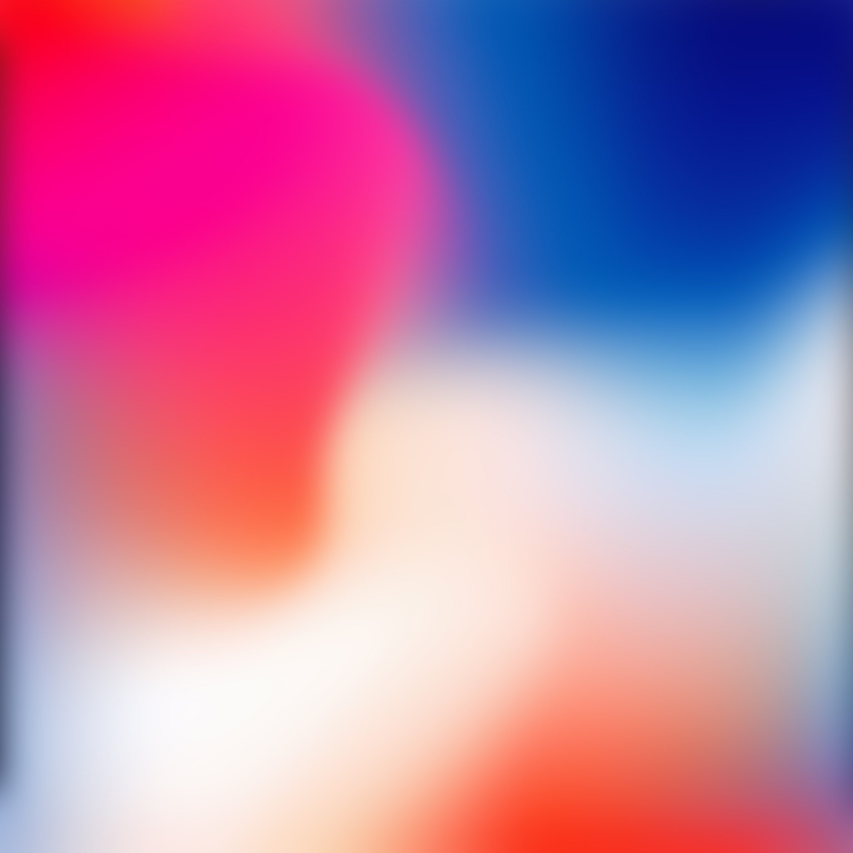 Sl90 Iphonex Apple Color Blur Gradation Wallpaper