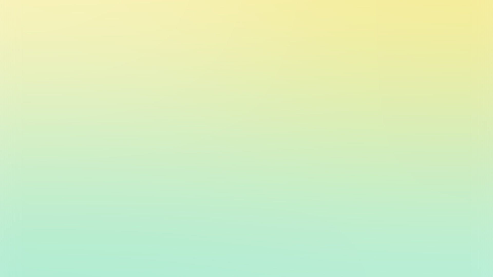 Sl91 Yellow Green Pastel Blur Gradation Wallpaper