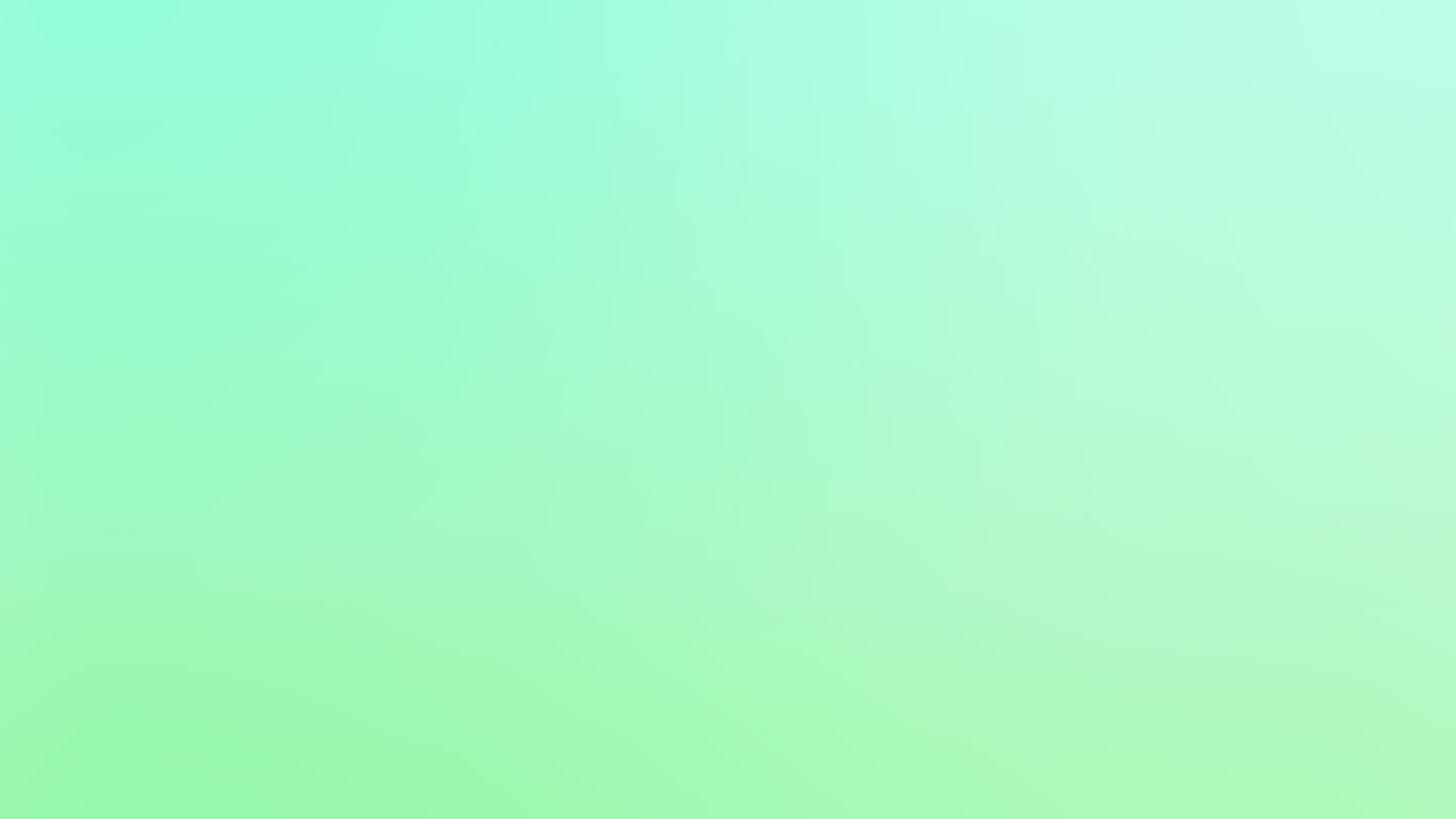 Green anime aesthetic desktop wallpaper,sm59 cool pastel blur gradation mint