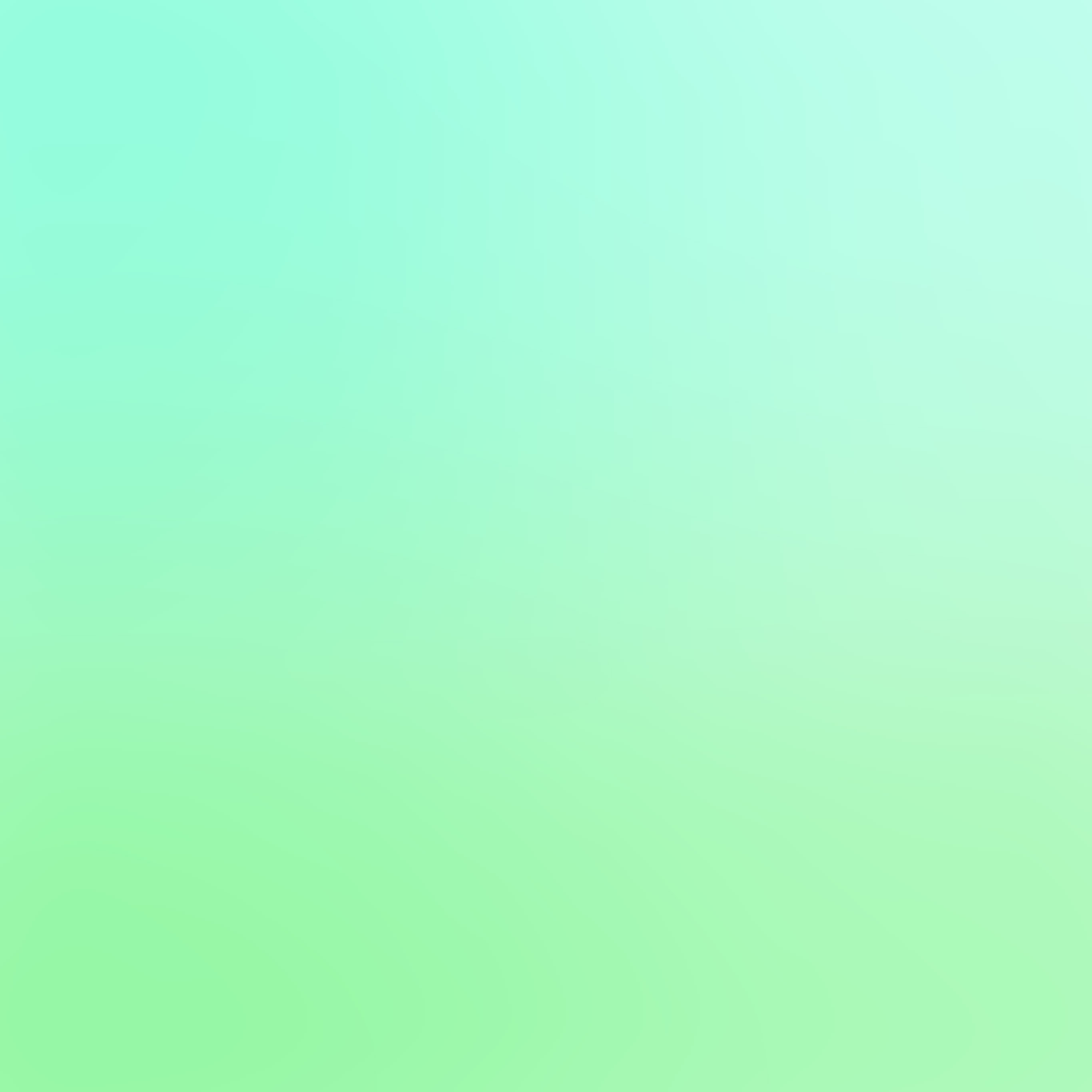 Sm59 Cool Pastel Blur Gradation Mint Green Wallpaper