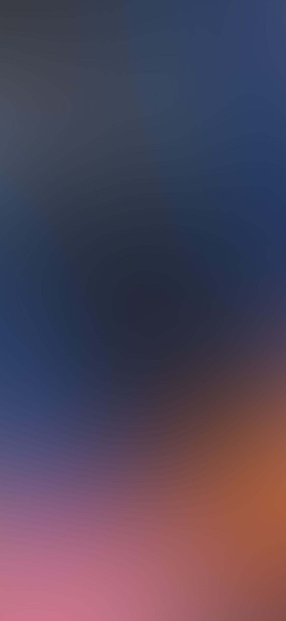 Papers Co Iphone Wallpaper Sm70 Blue Abstract Blur Gradation