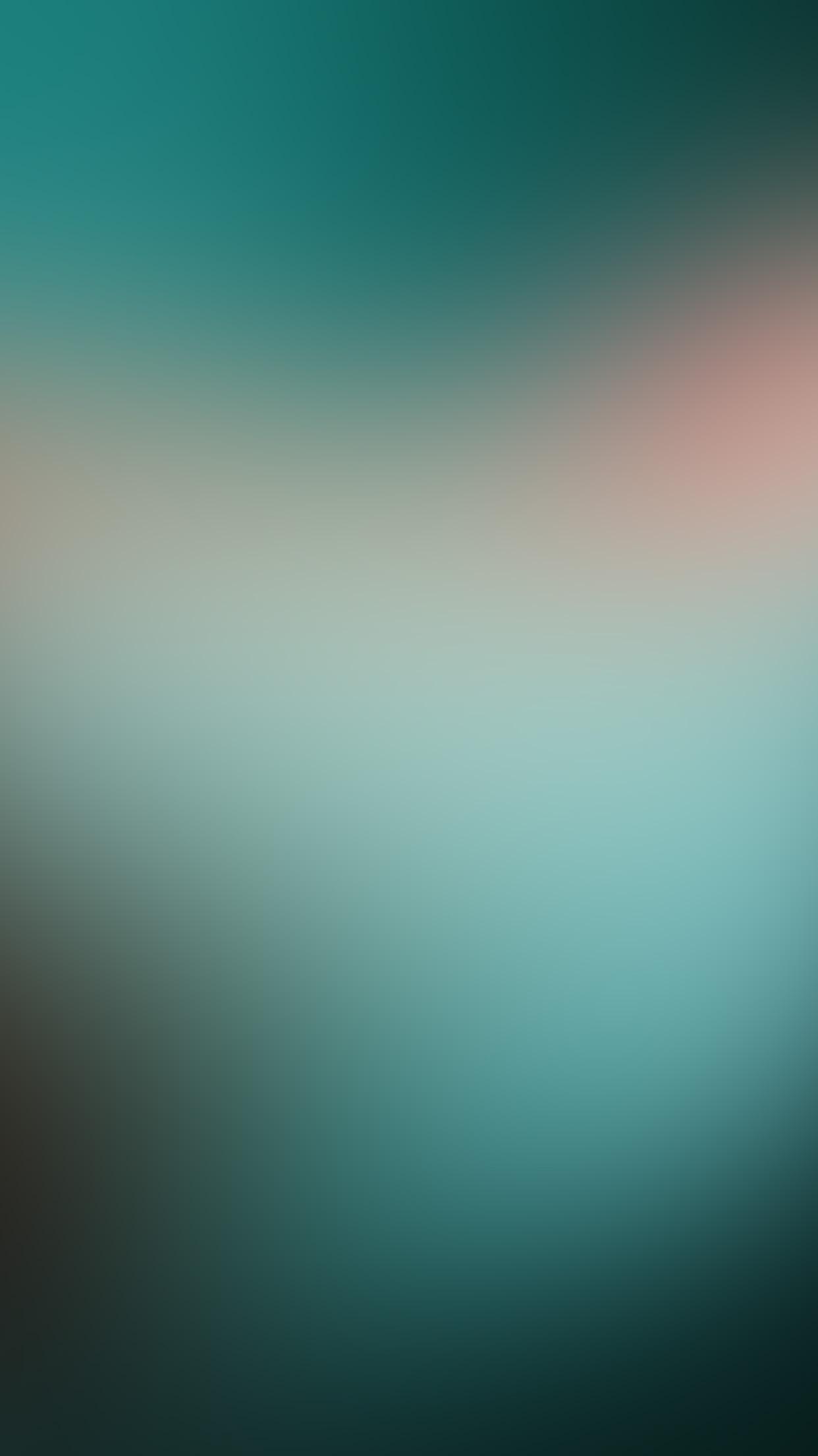 Sn50 Green Night Blur Gradation Wallpaper