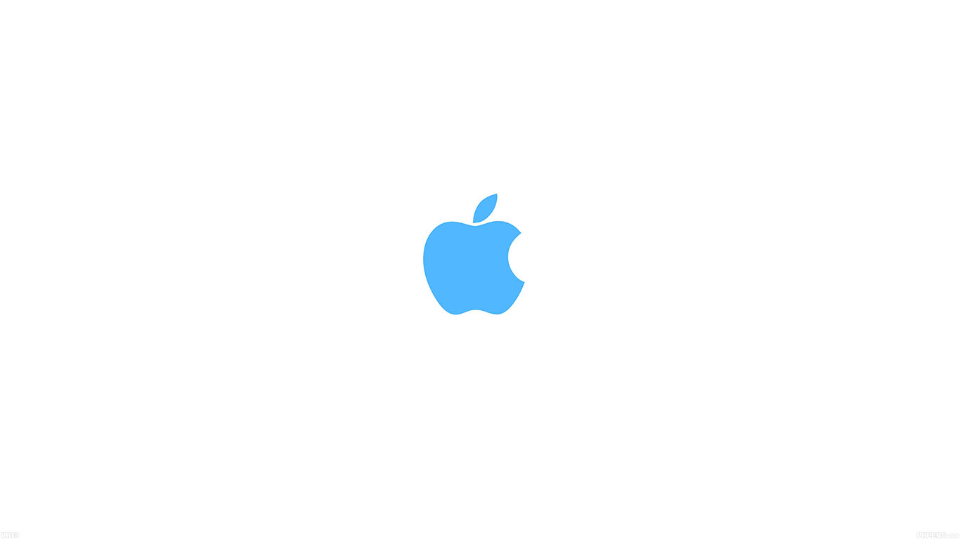iPapers.co-Apple-iPhone-iPad-Macbook-iMac-wallpaper-va13-apple-simple-logo-color-blue-minimal