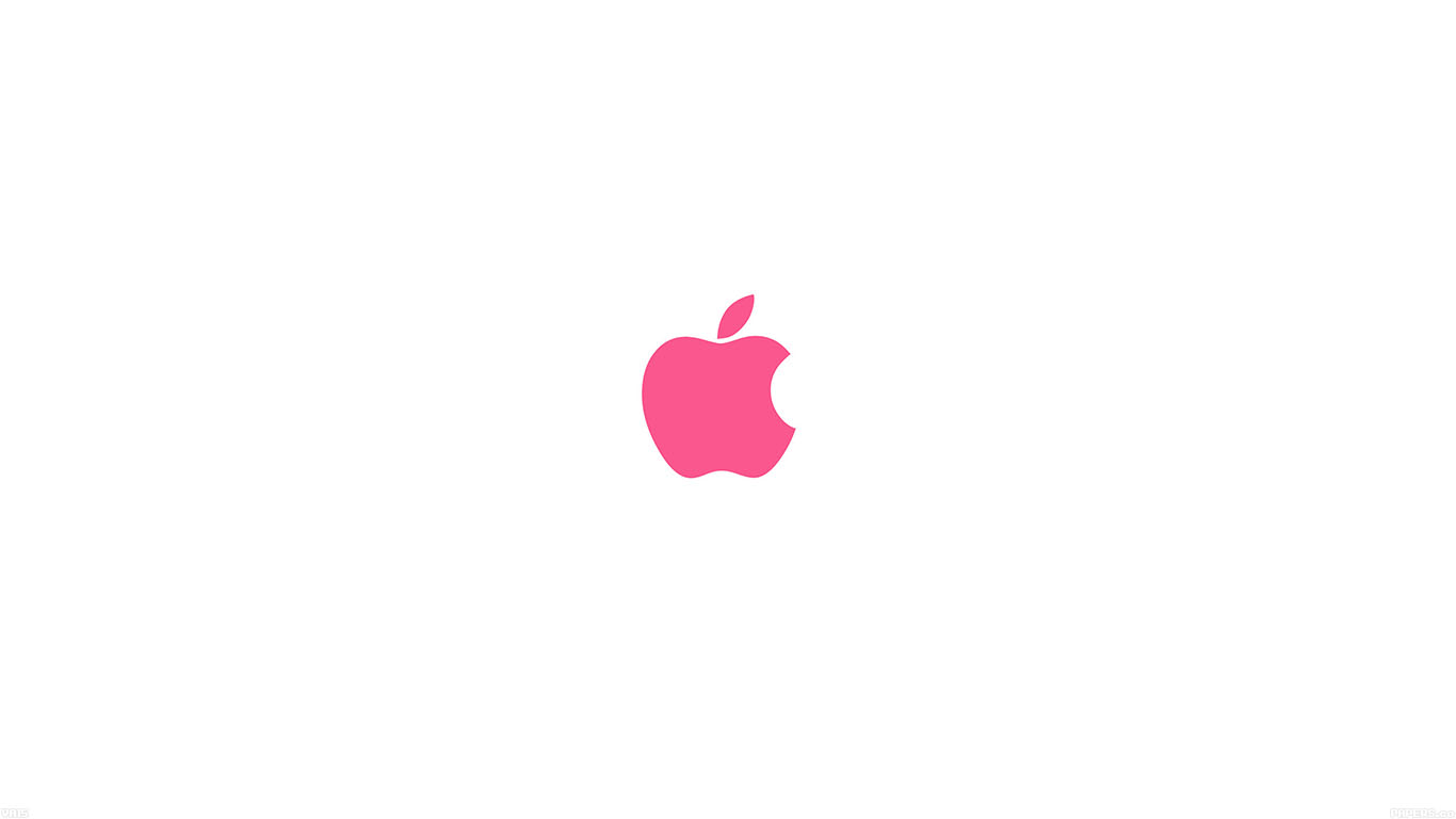 iPapers.co-Apple-iPhone-iPad-Macbook-iMac-wallpaper-va15-apple-simple-logo-color-red-minimal