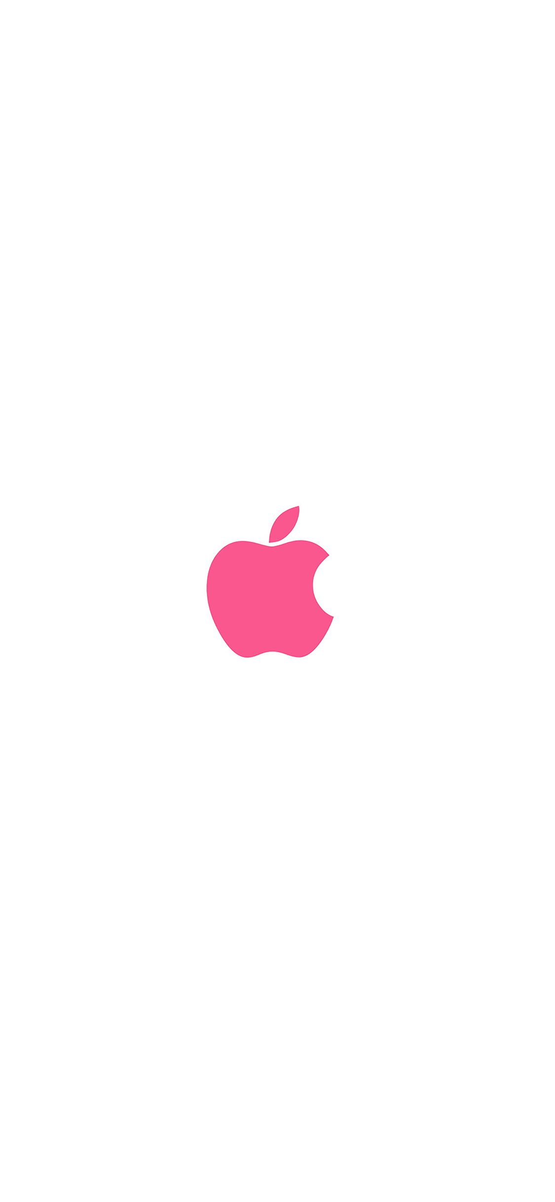 iPhoneXpapers.com-Apple-iPhone-wallpaper-va15-apple-simple-logo-color-red-minimal