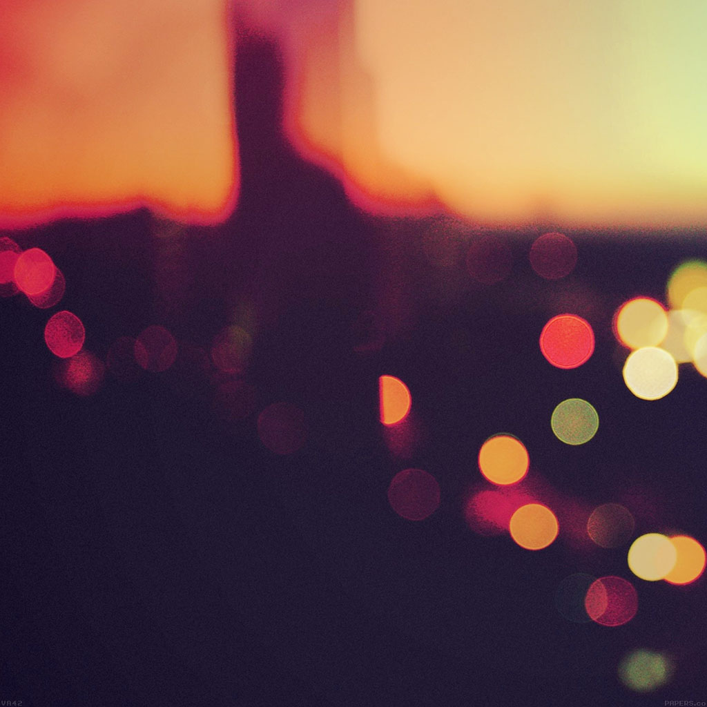 android-wallpaper-va42-bokeh-sunset-pattern-wallpaper