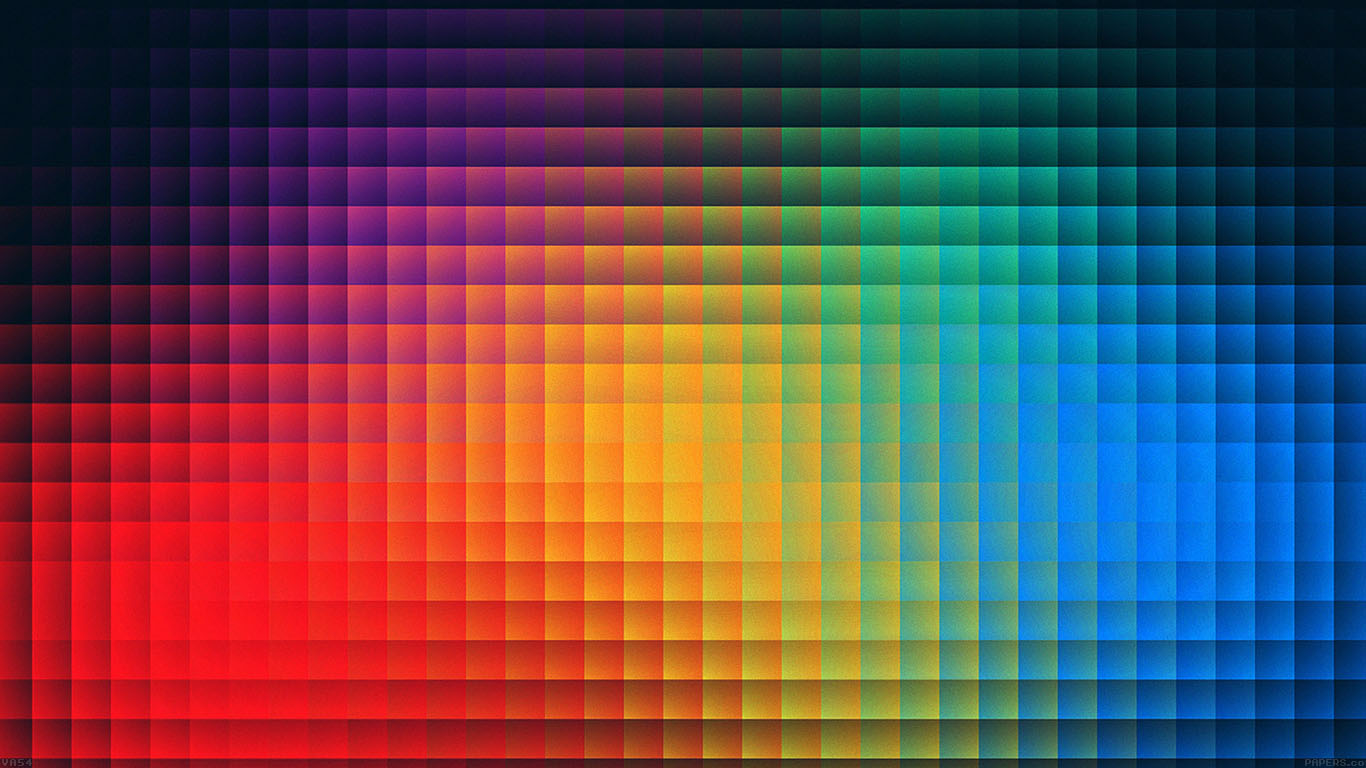 Va54 Rainbow Pixels Pattern Papers Co