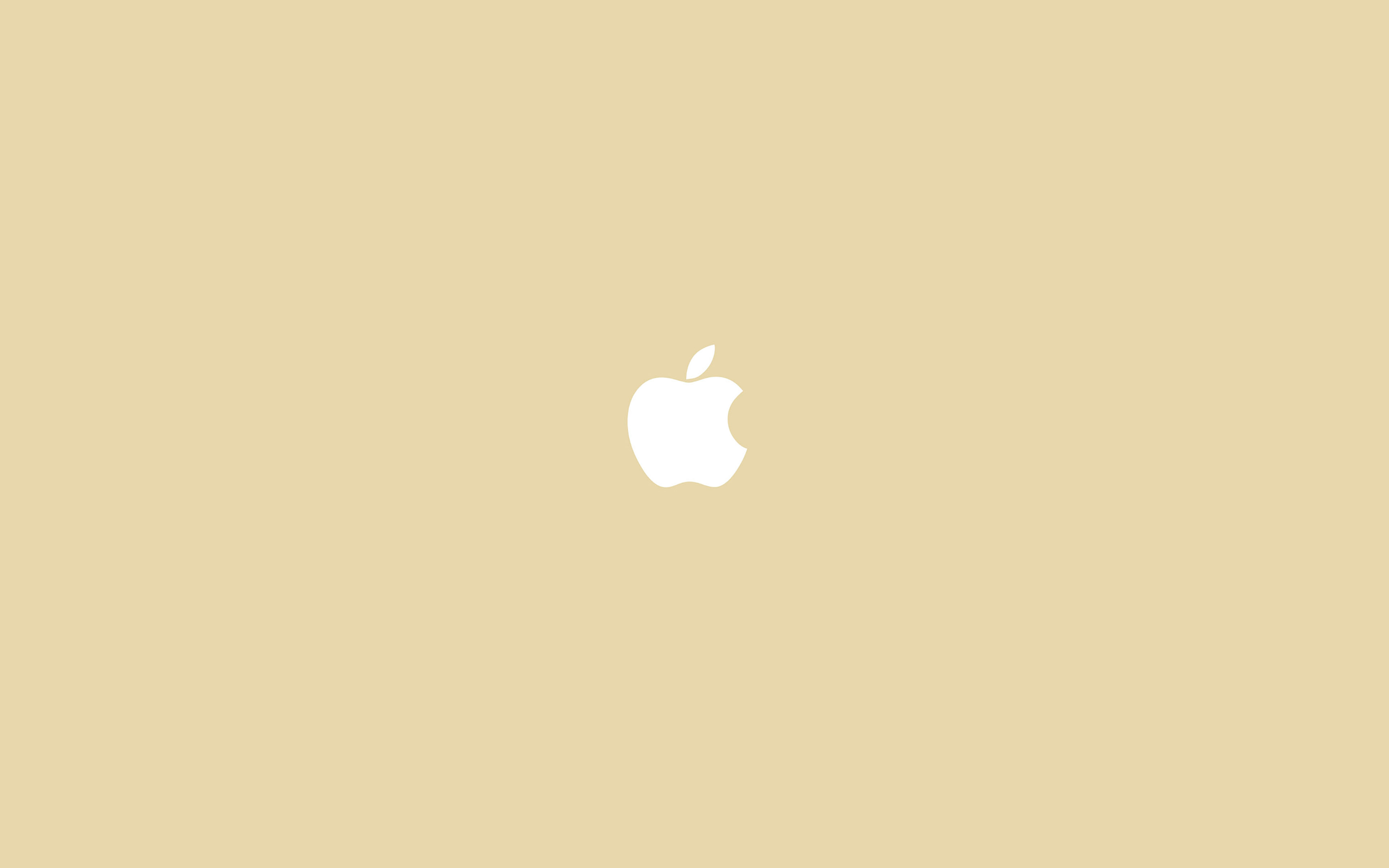Va55 Simple Apple Logo Gold Minimal Papers Co