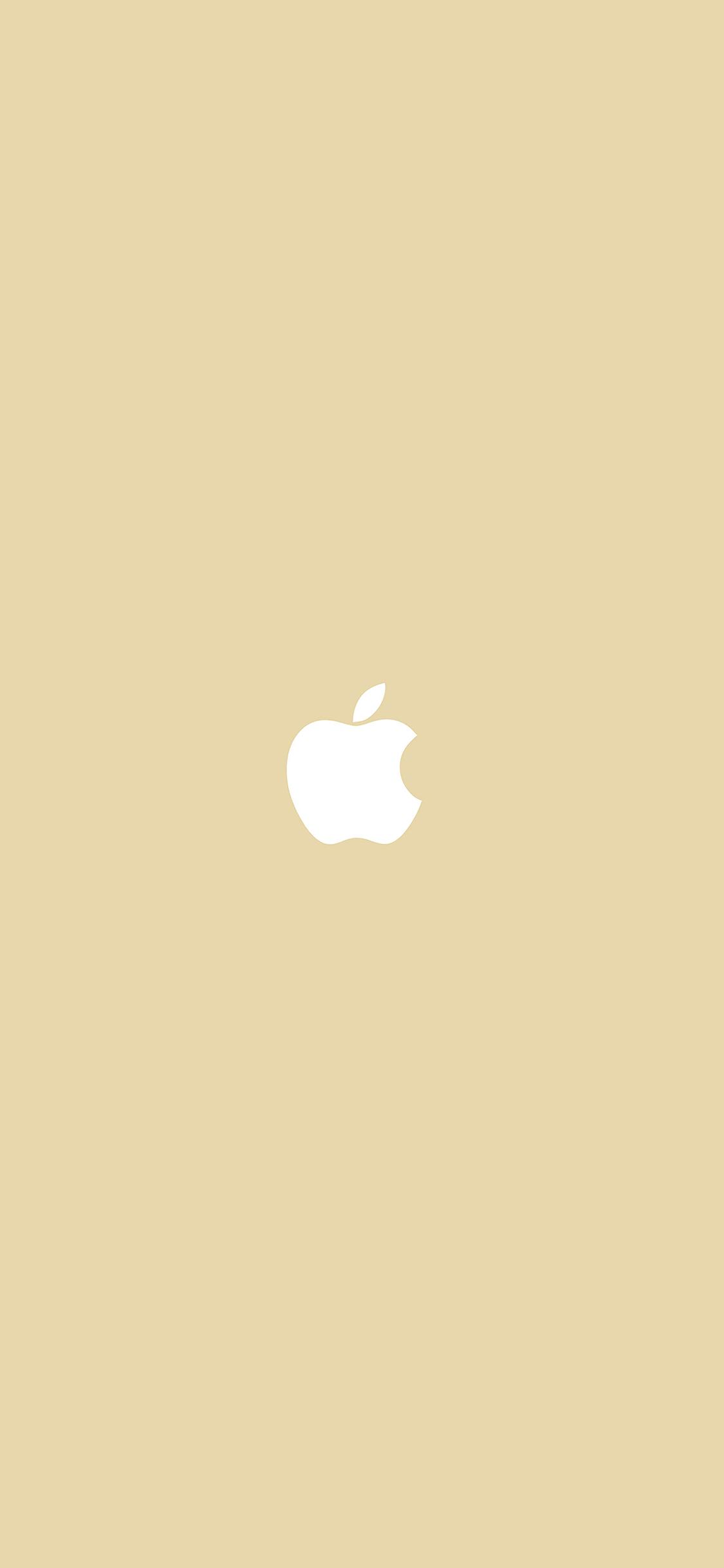 iPhoneXpapers.com-Apple-iPhone-wallpaper-va55-simple-apple-logo-gold-minimal