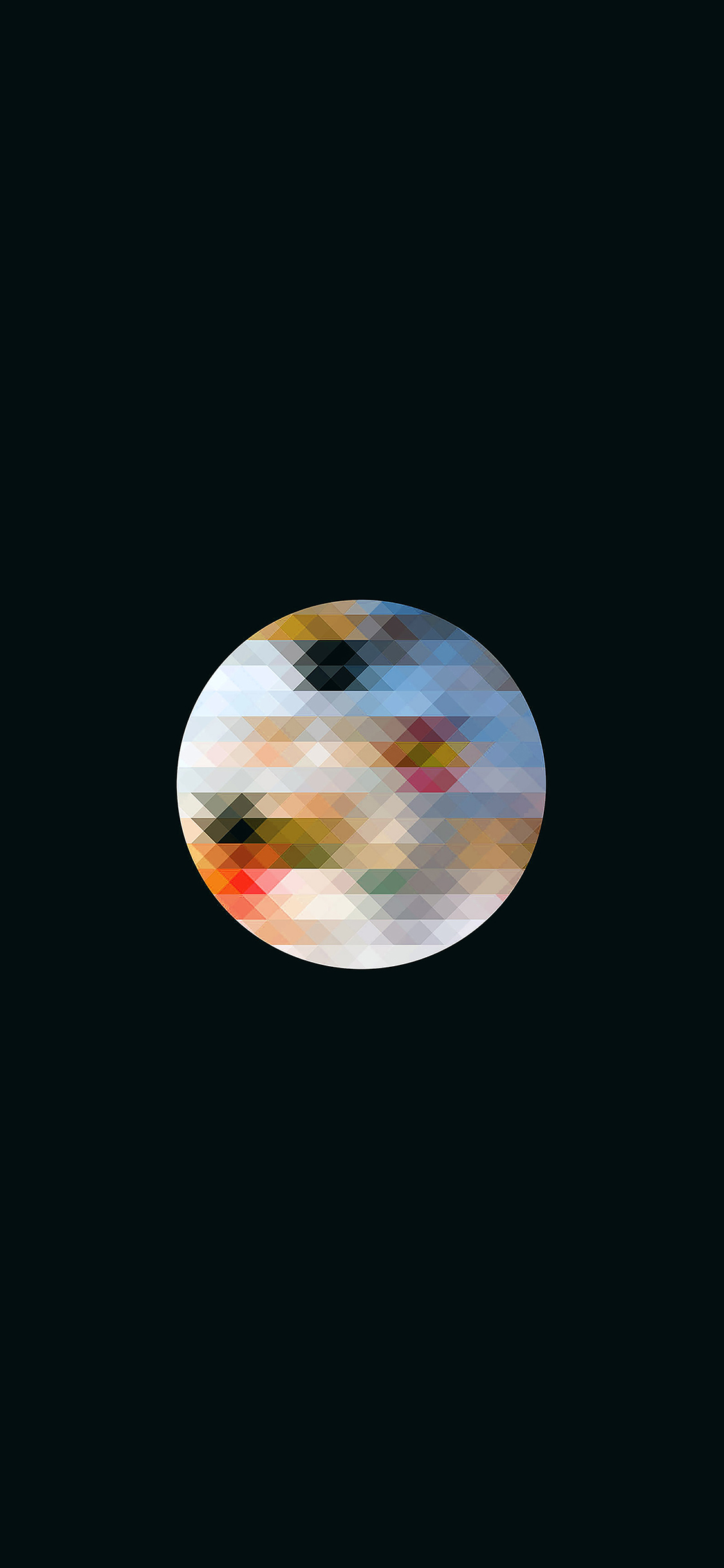 iPhoneXpapers.com-Apple-iPhone-wallpaper-va61-triangle-in-circle-dark-pattern
