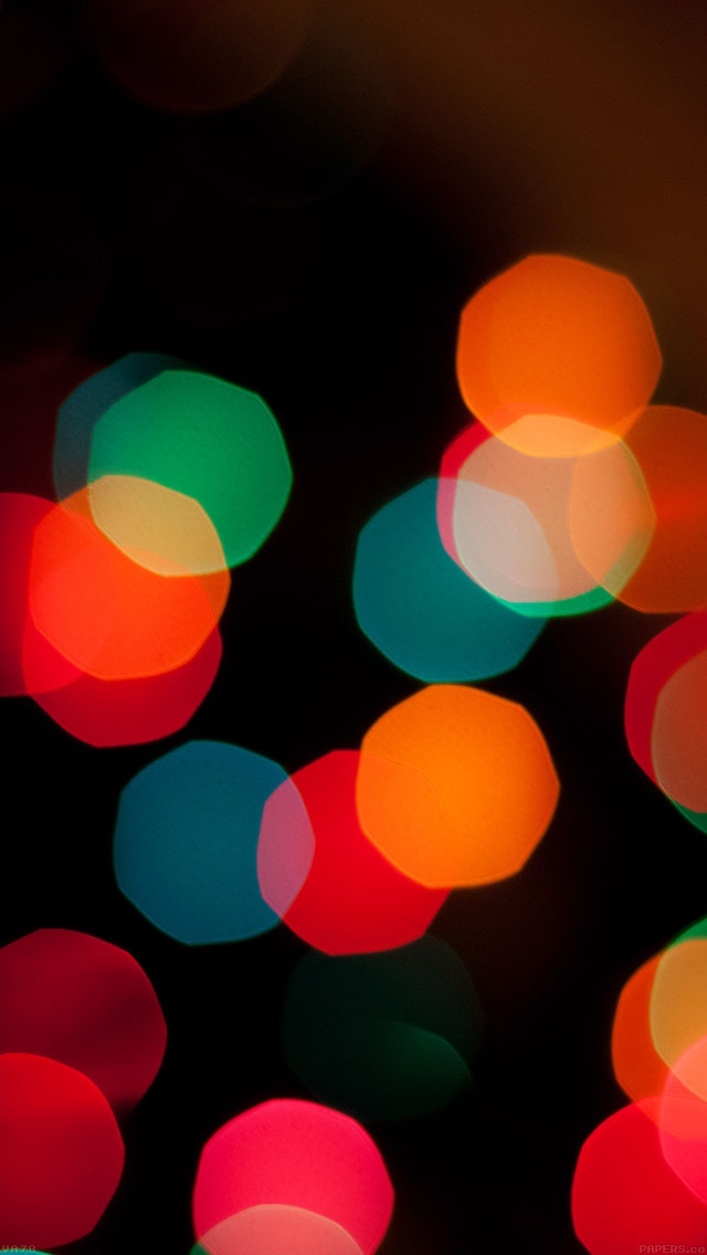 freeios8.com-iphone-4-5-6-ipad-ios8-va78-wallpaper-christmas-bokeh