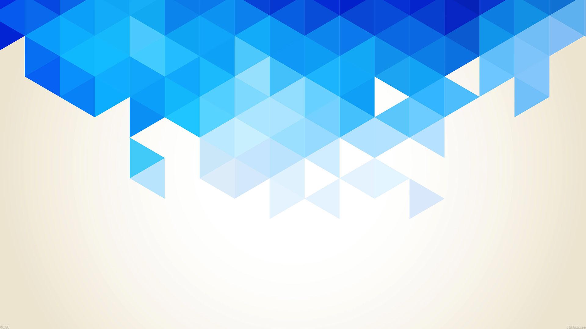 va91-wallpaper-triangle-fall-blue-pattern-wallpaper