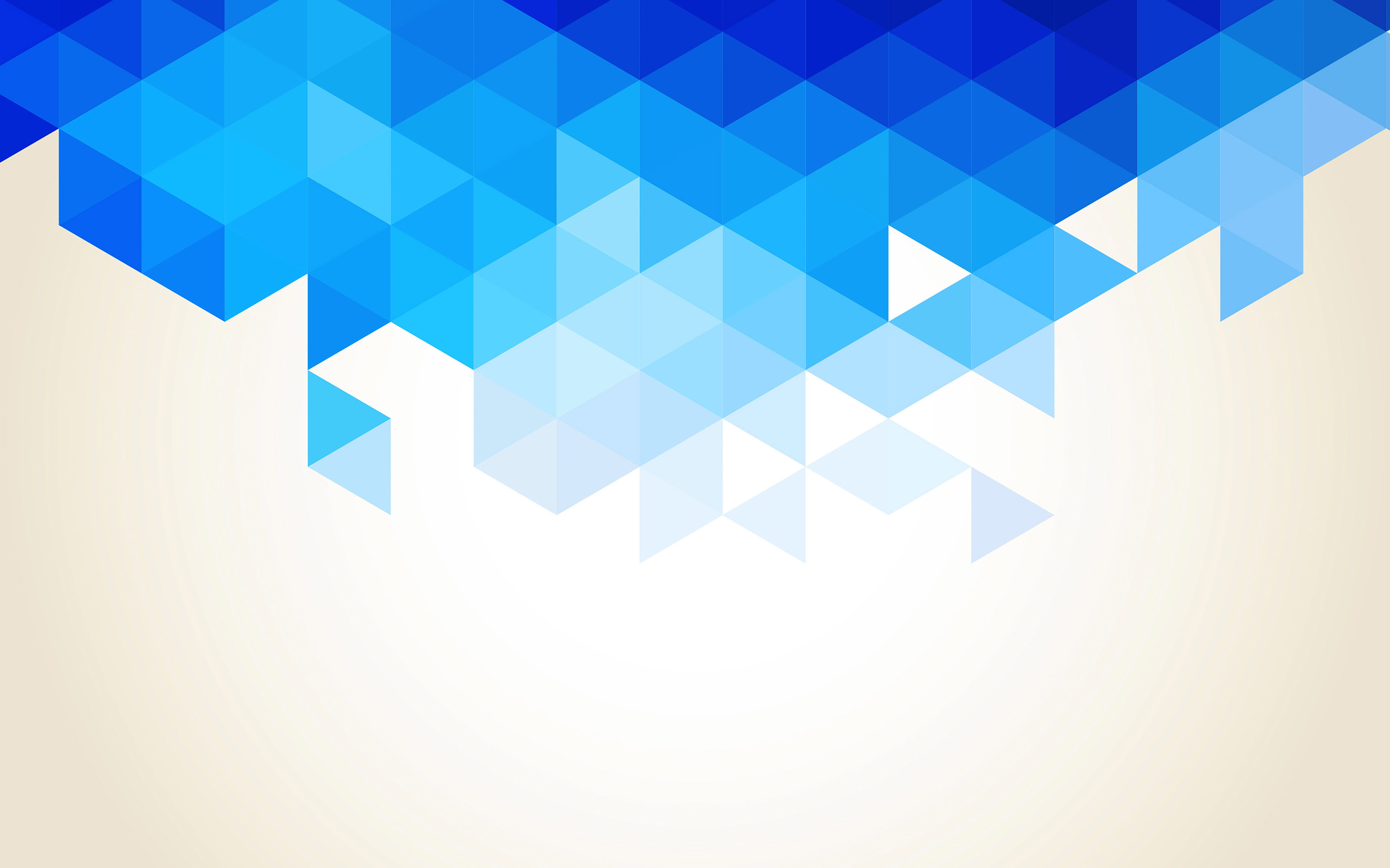 Va91 Wallpaper Triangle Fall Blue Pattern on Apple Pattern