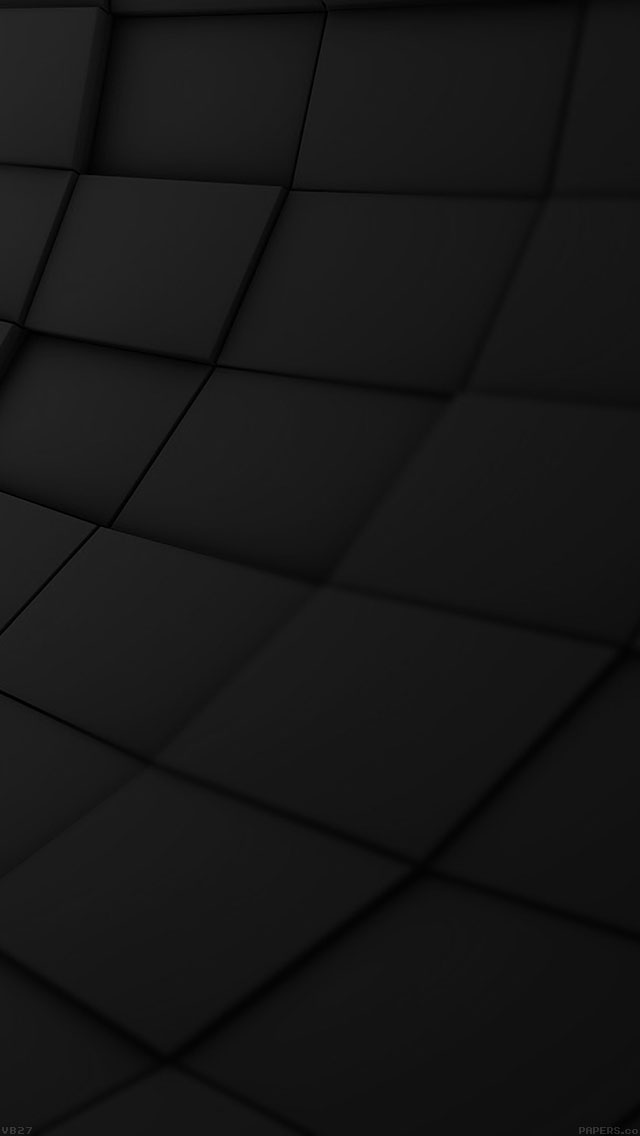 freeios8.com-iphone-4-5-6-ipad-ios8-vb27-wallpaper-brick-3ds-black-pattern