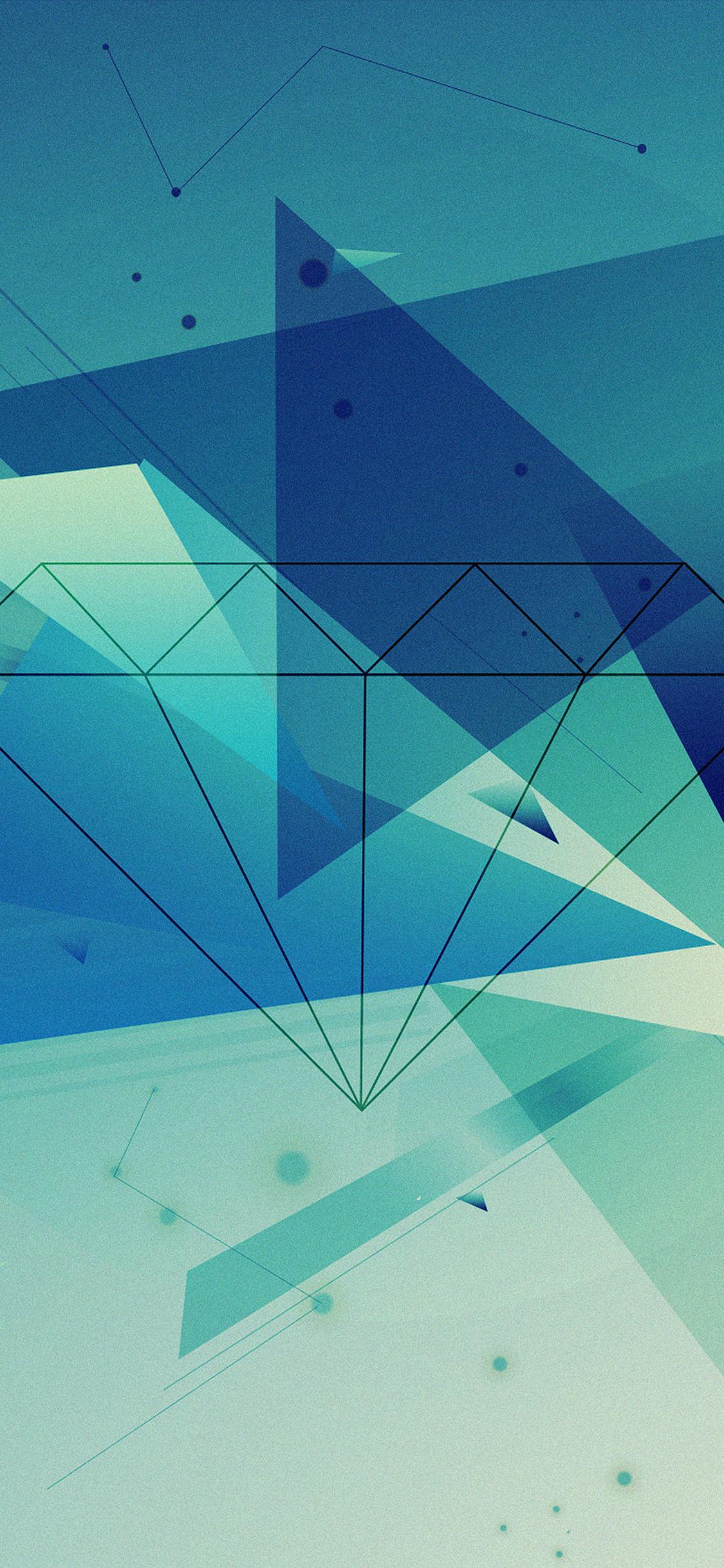 iPhoneXpapers.com-Apple-iPhone-wallpaper-vb89-wallpaper-diamond-blue-illust-graphic-art