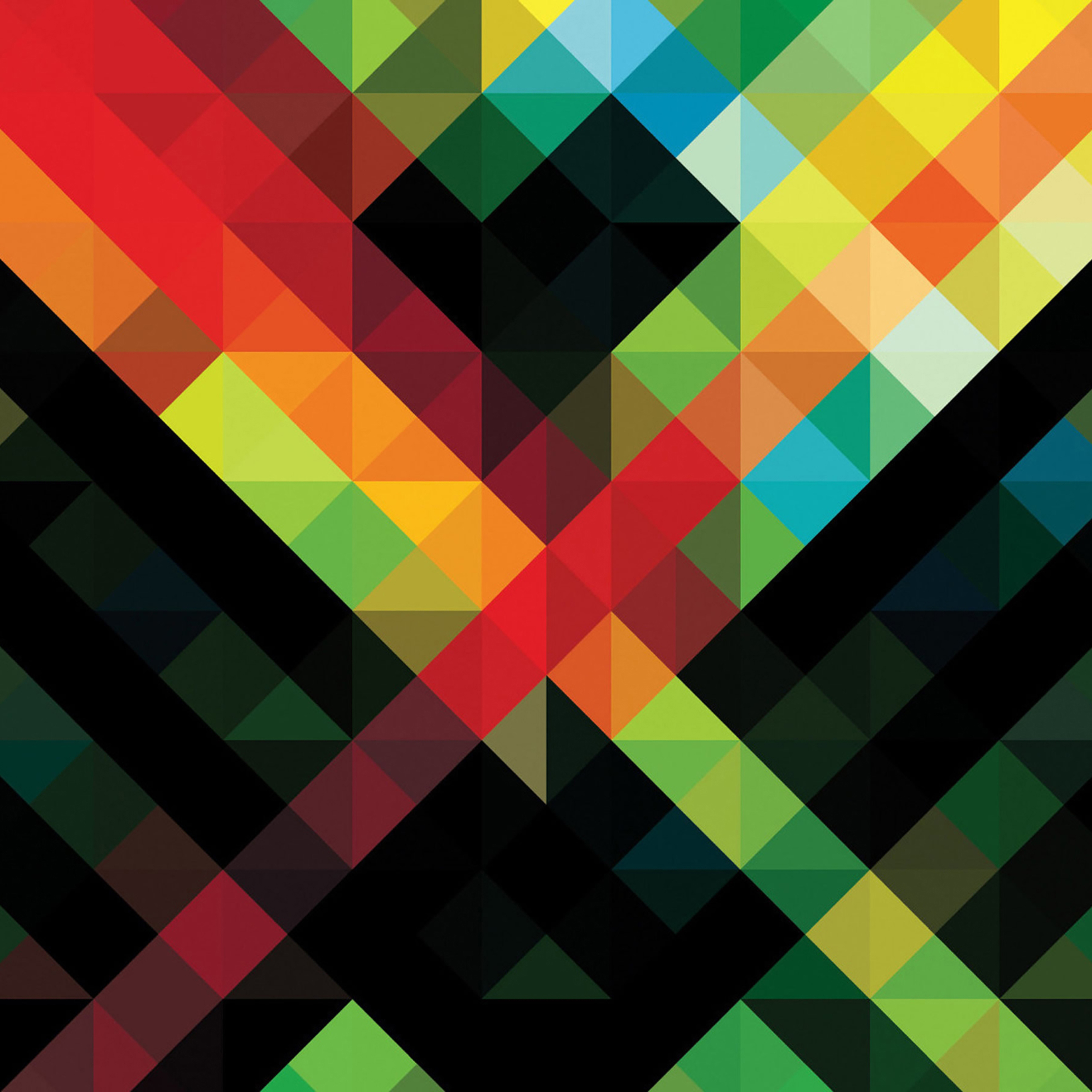 Vb96 Wallpaper Line Blocks Pattern Art