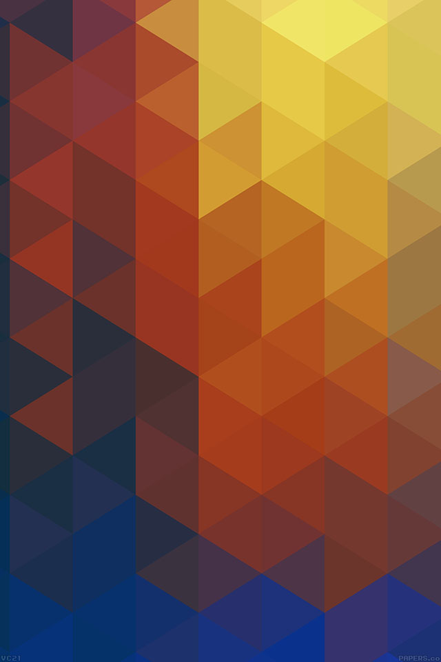 freeios7.com-iphone-4-iphone-5-ios7-wallpapervc21-triangle-world-yellow-pattern-iphone4