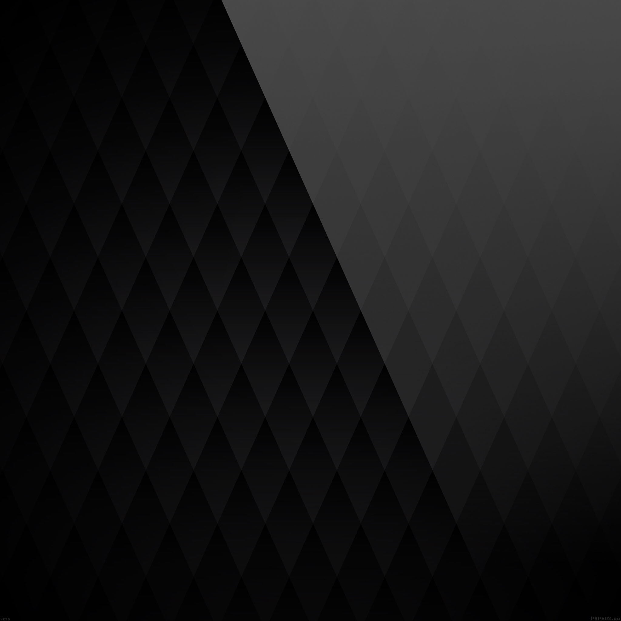 FREEIOS7 | vc39-black-diamond-pattern - parallax HD iPhone ...