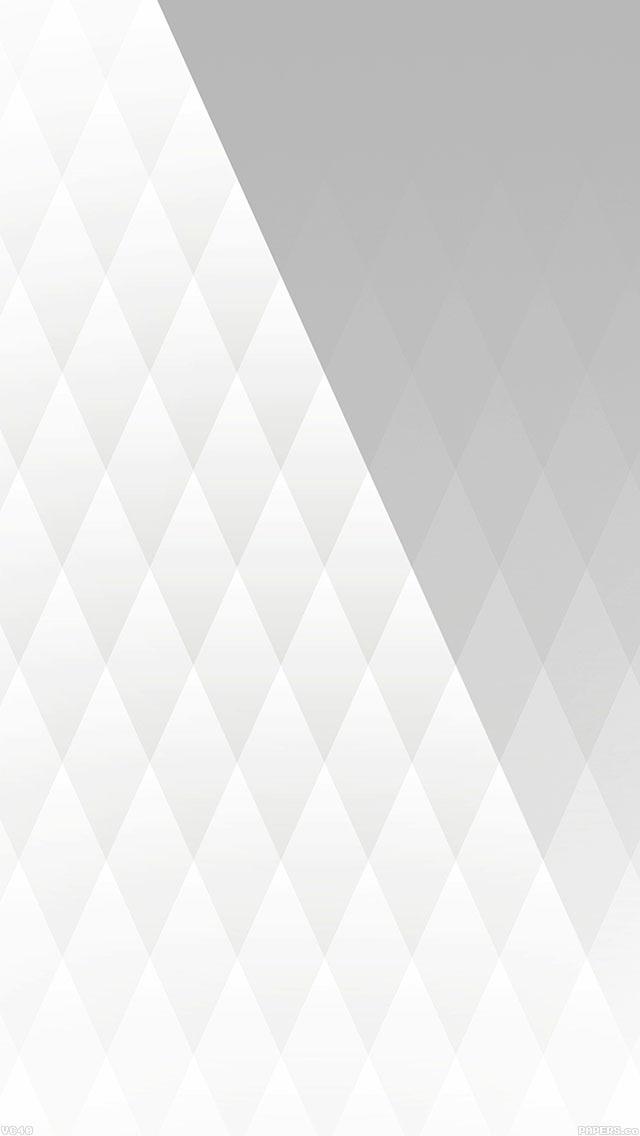 Vc40 White Diamond Pattern
