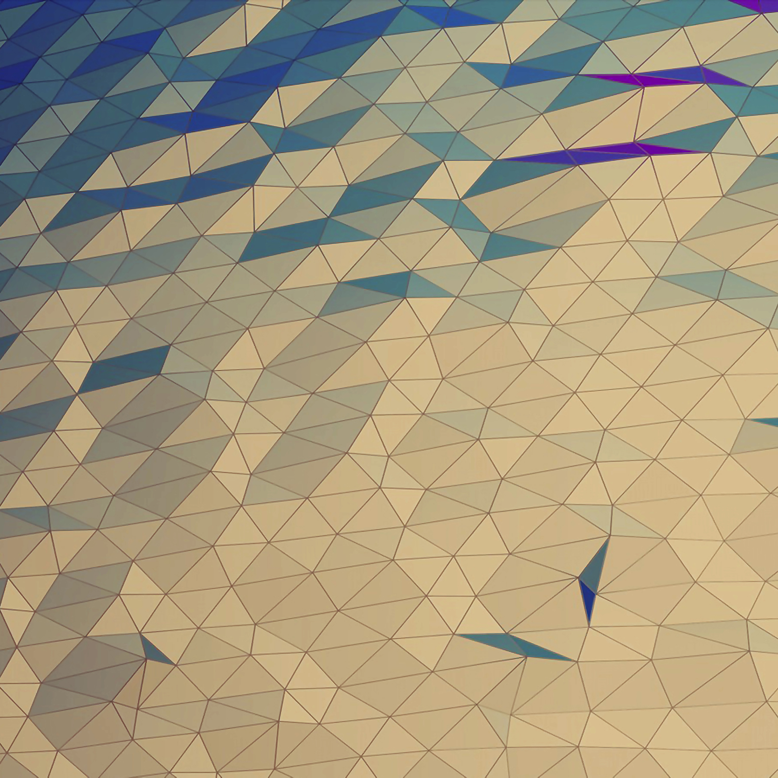 Vc43 Jelly Bean Abstract Line Art Wallpaper