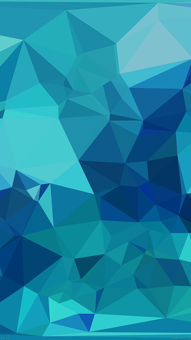 Freeios7 vc96 triangle of blue patterns parallax hd for Architecture wallpaper iphone 6