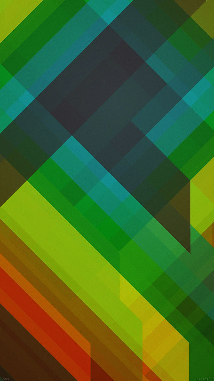 iPhone7papers.com-Apple-iPhone7-iphone7plus-wallpaper-vd37-multicolored-polygons-green-pattern-art-abstract