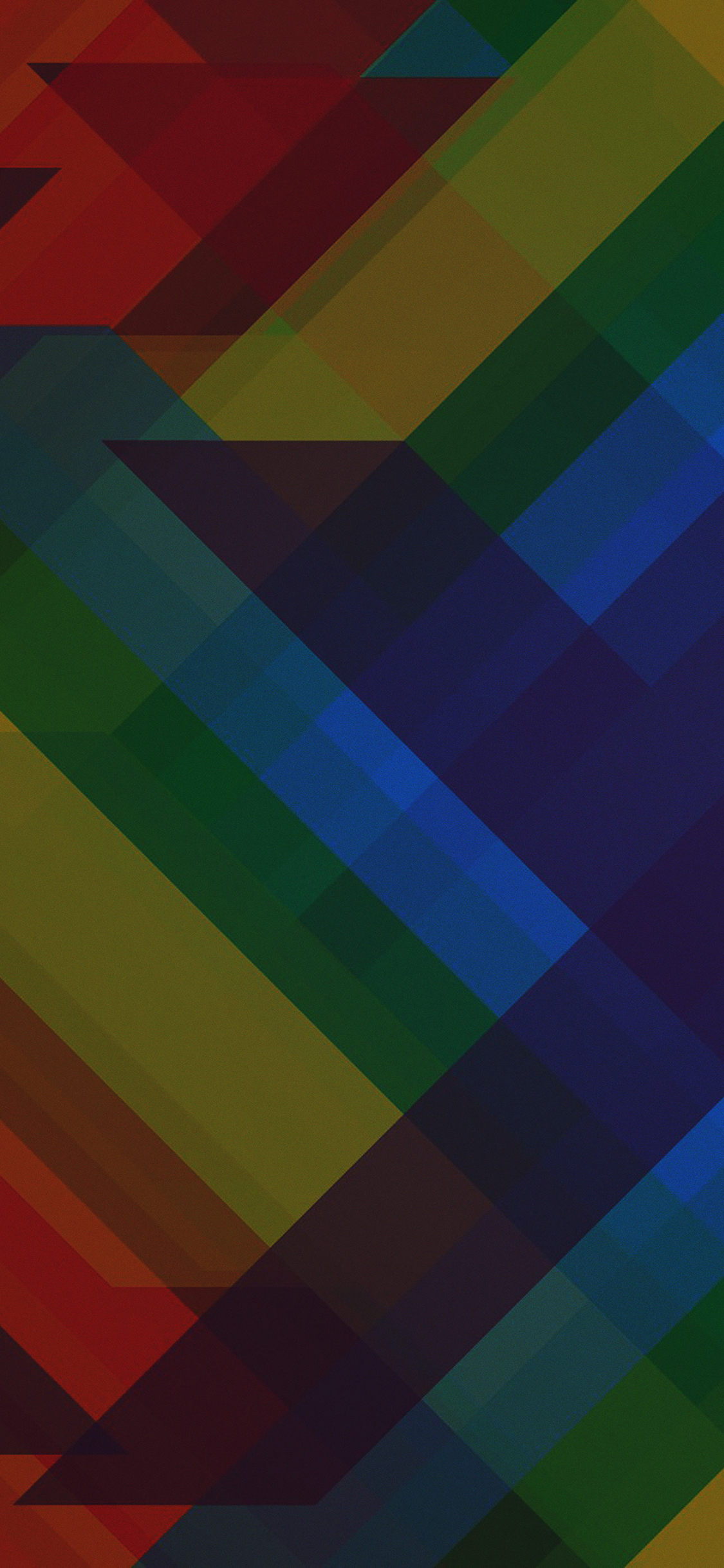 iPhoneXpapers.com-Apple-iPhone-wallpaper-vd38-multicolored-polygons-dark-pattern-art-abstract