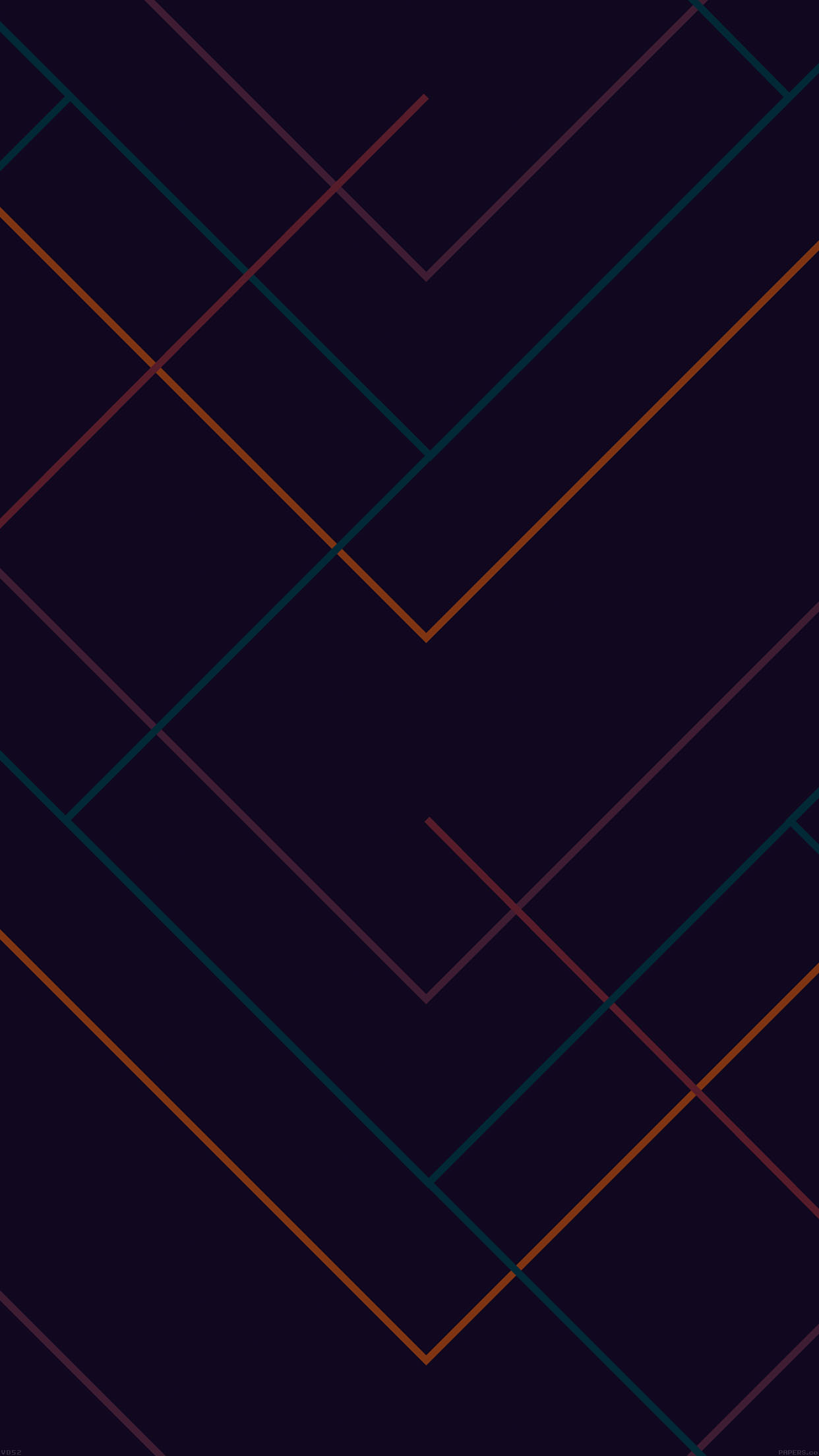 Vd52 Abstract Dark Geometric Line Pattern