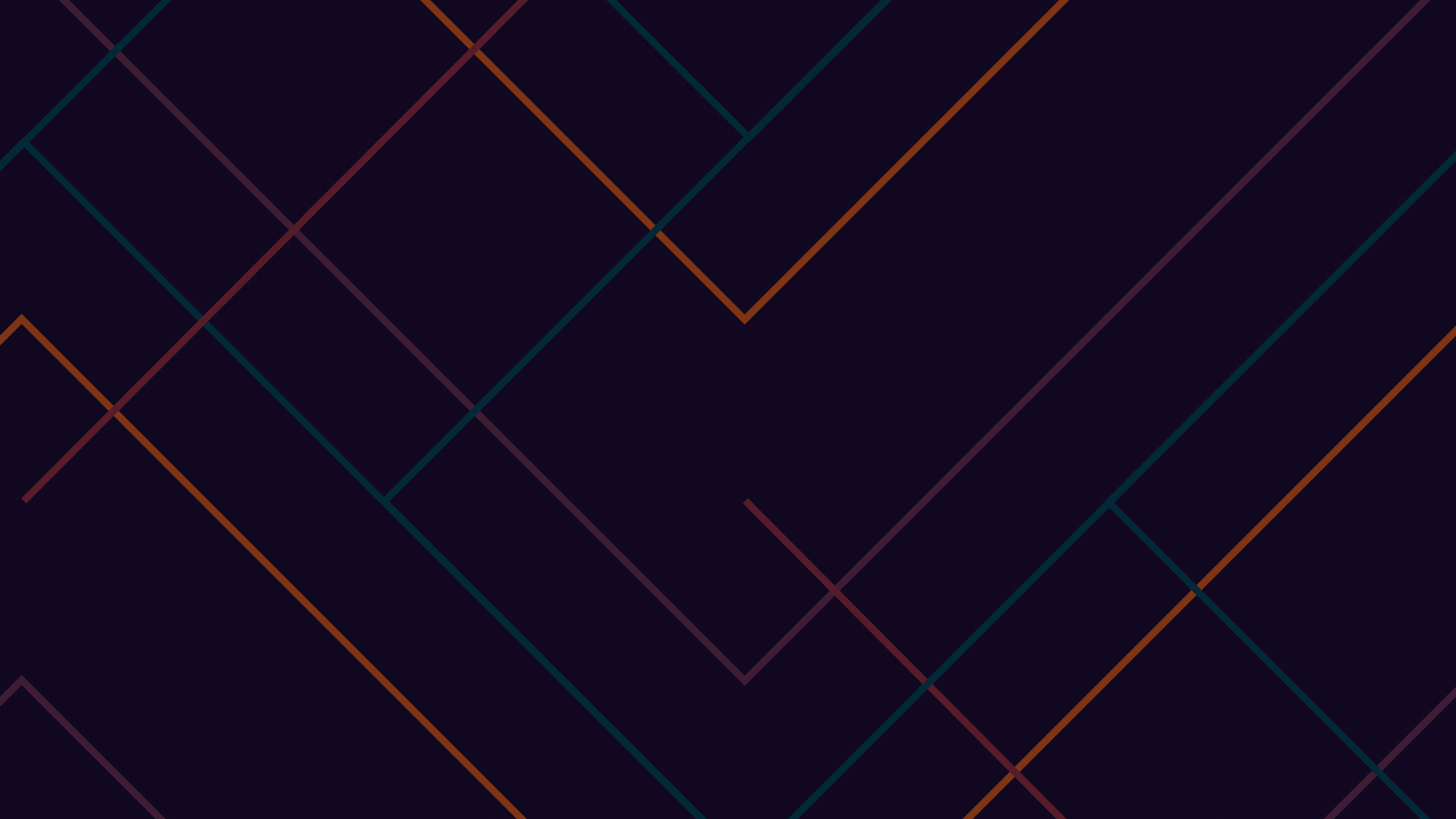 Dark Geometric Wallpaper 4k