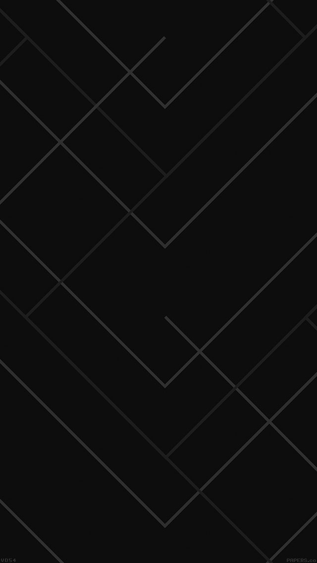 Vd54 abstract black geometric line pattern - Black iphone x wallpaper ...