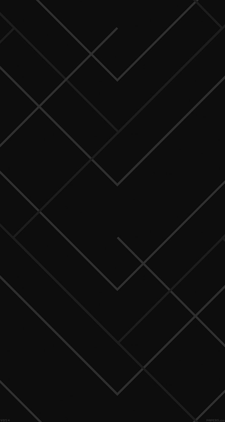 Iphone 6 Black geometric wallpaper