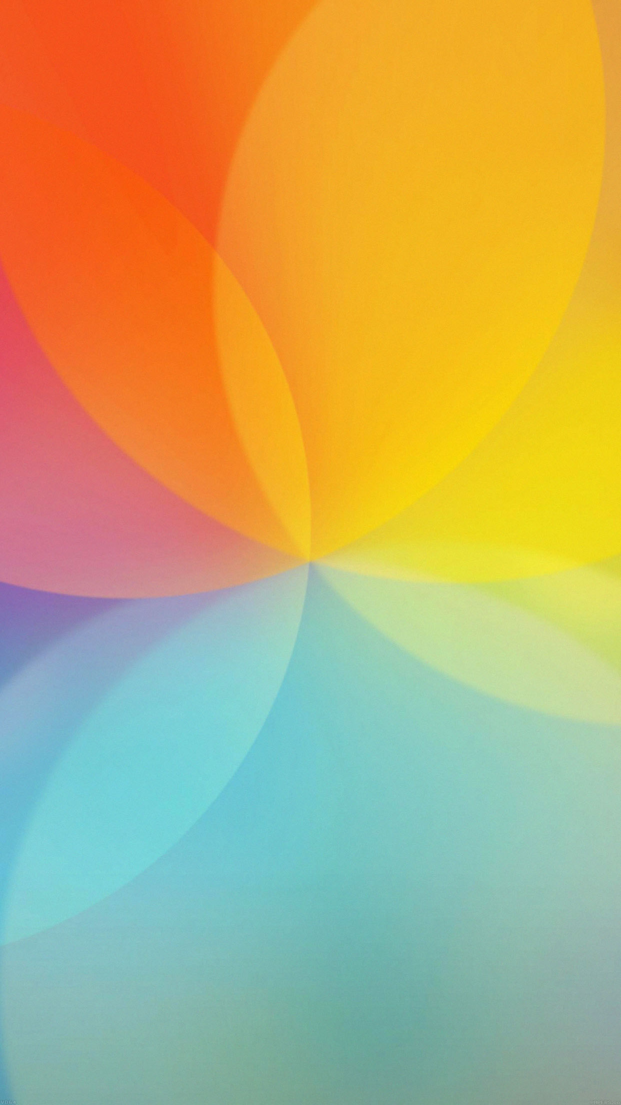 Iphone6papers Vd64 Lg G4 Rainbow Lights Bokeh Art