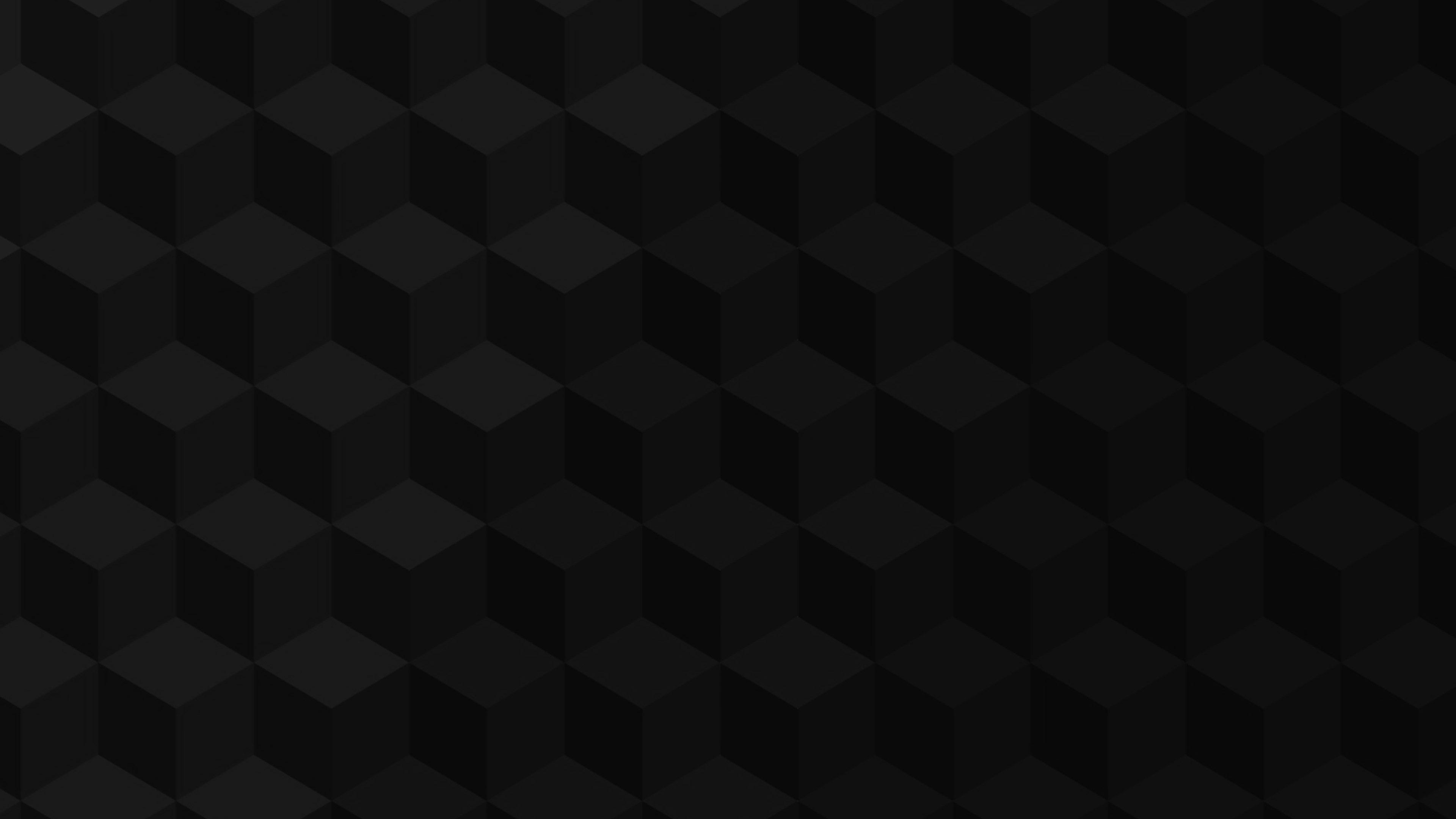 Ve03 Cube Shadow Dark Pattern Art Papers Co