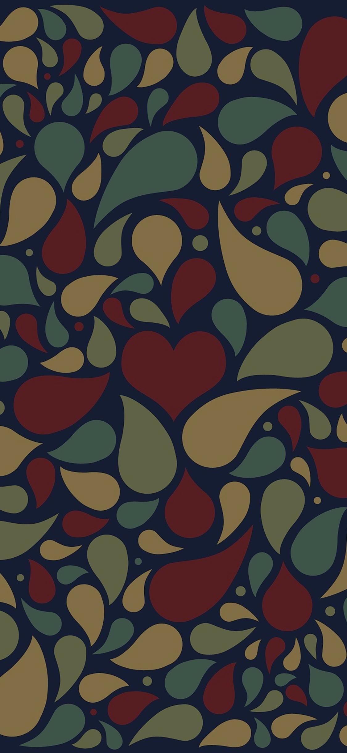 iPhoneXpapers.com-Apple-iPhone-wallpaper-ve21-drop-water-love-pattern-art-digital
