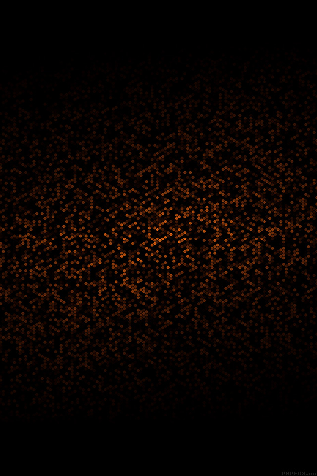 FREEIOS7 | ve25-dots-pattern-black-and-orange-abstract ...