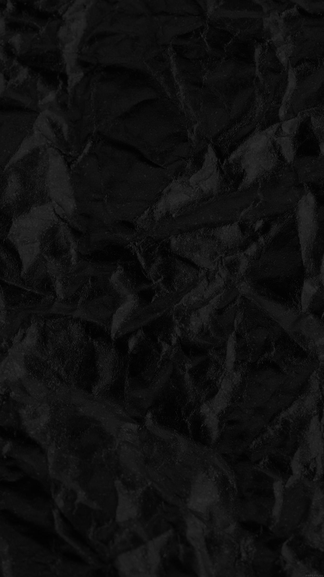 Papersco Iphone Wallpaper Ve30 Foil Black Texture Pattern