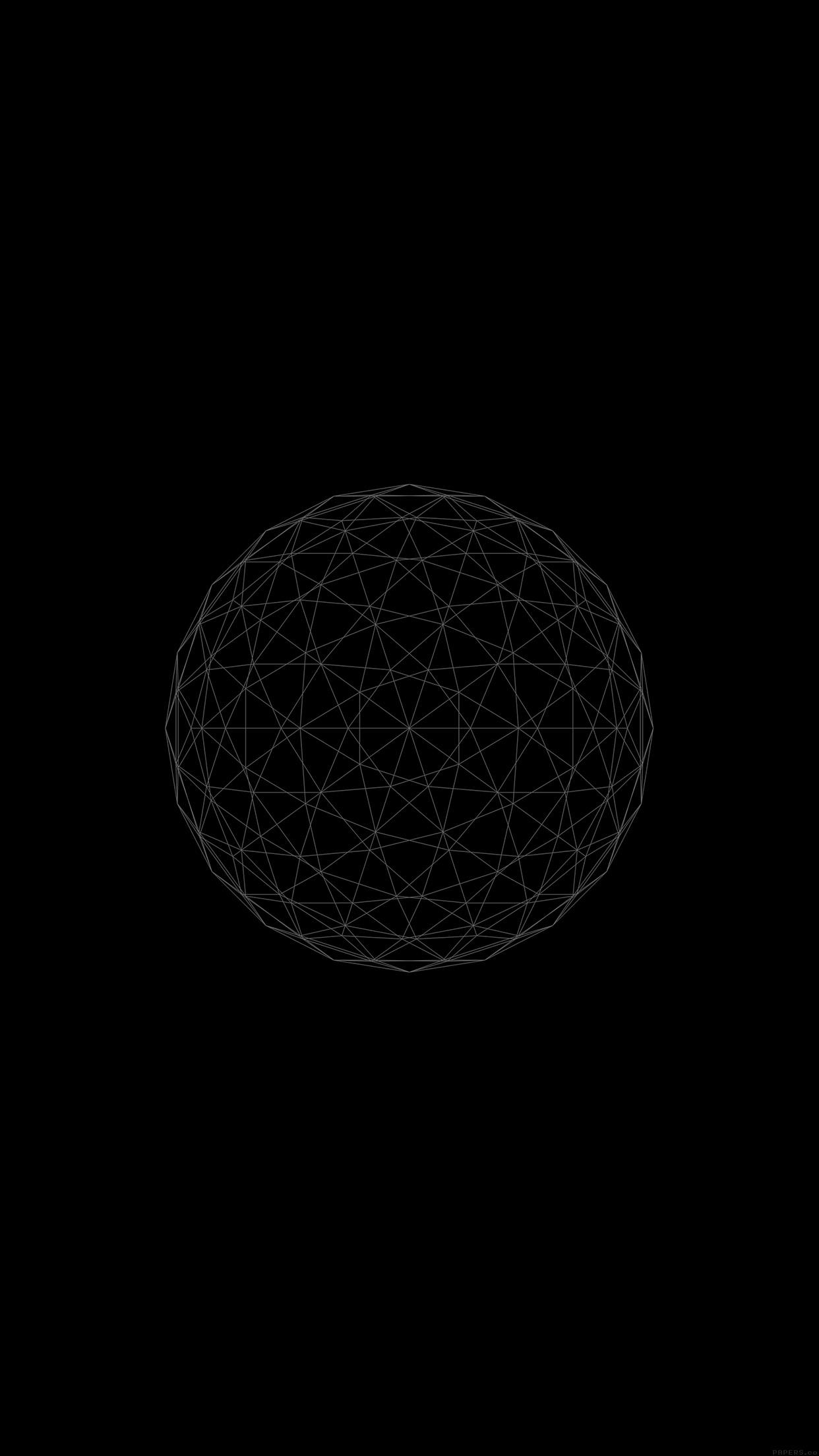 ve32-line-abstract-circle-3d-art-wallpaper