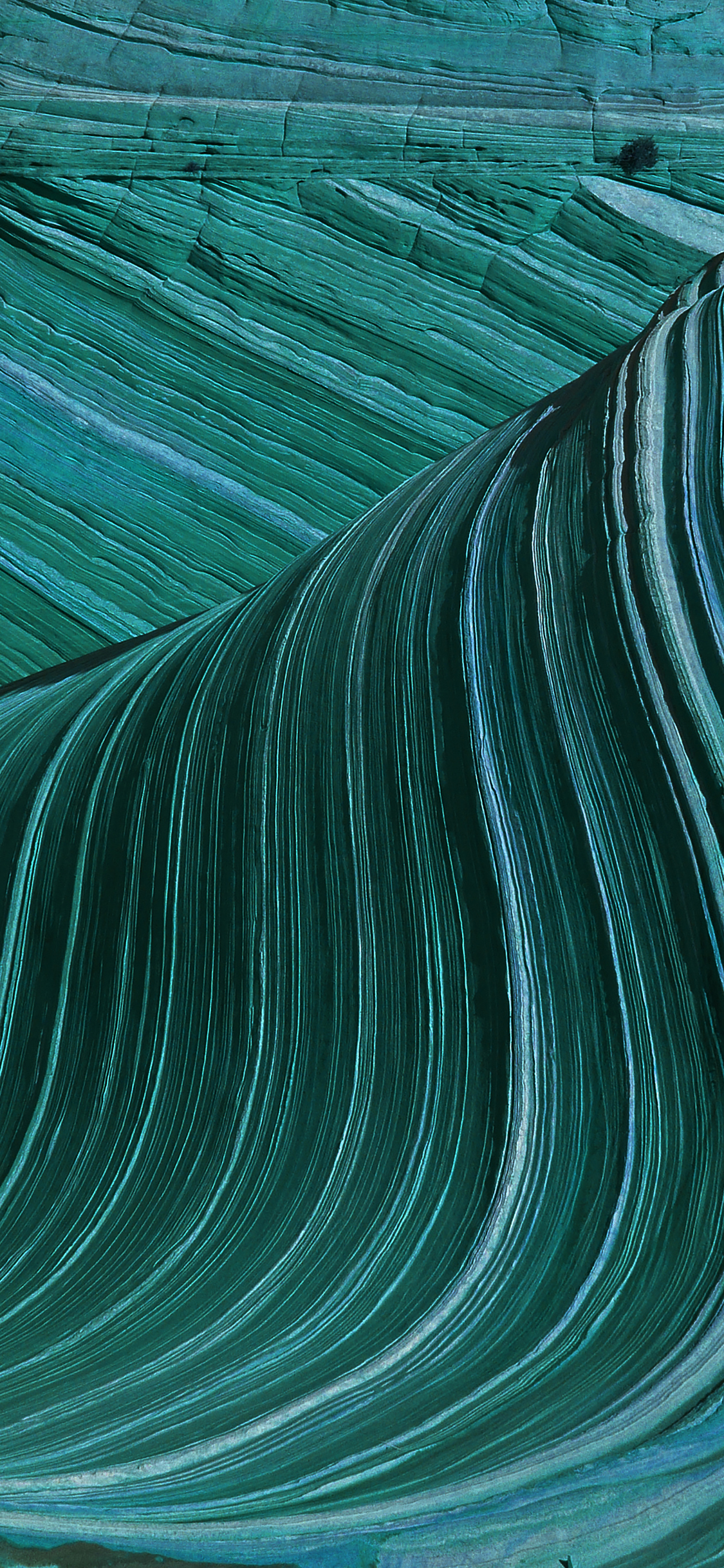 iPhoneXpapers.com-Apple-iPhone-wallpaper-ve42-swirling-patterns-wave-green-mountain-nature