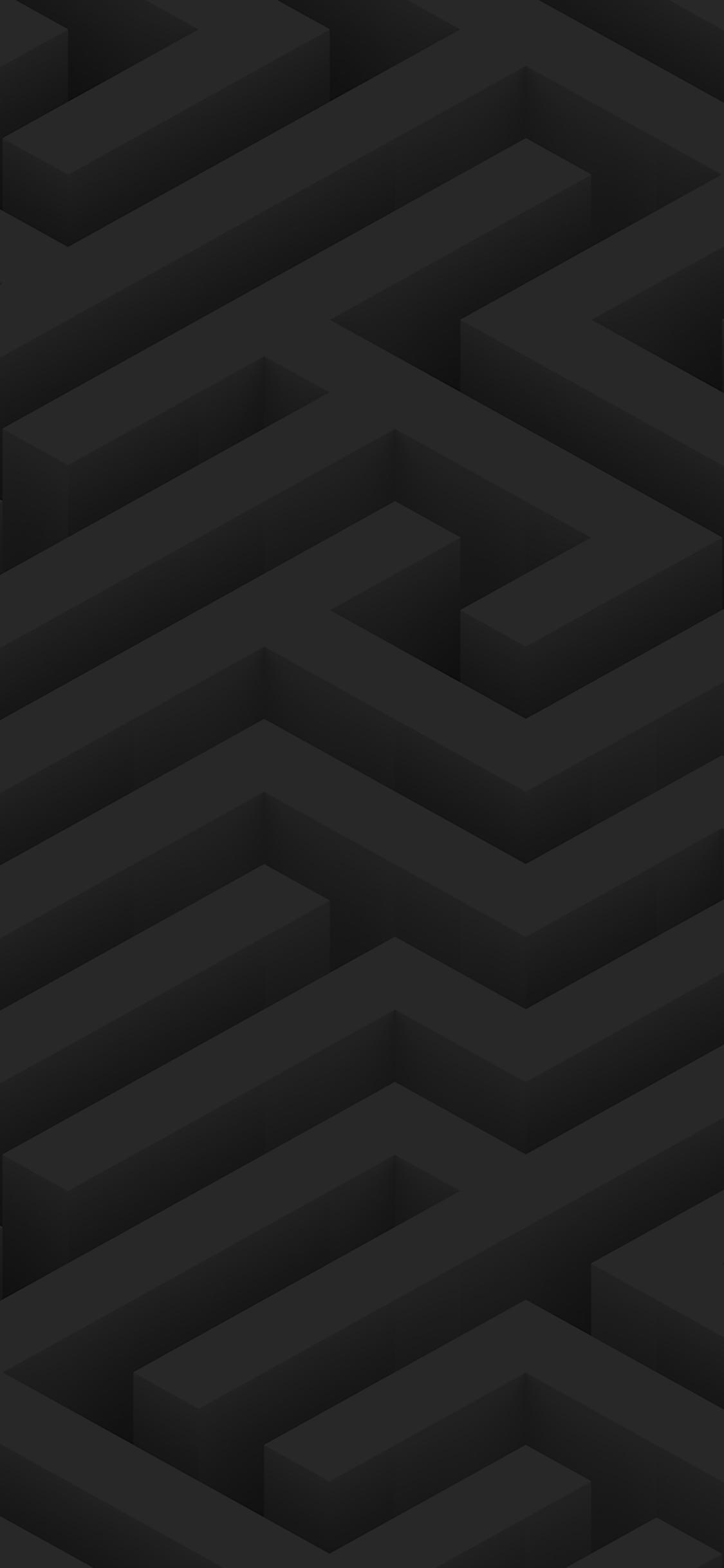 iPhoneXpapers.com-Apple-iPhone-wallpaper-ve67-maze-art-dark-abstract-patterns