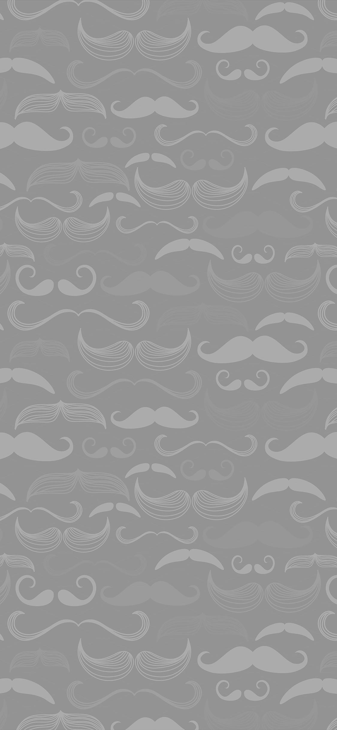 Ve73 Hipster Moustache Cute Light Patterns