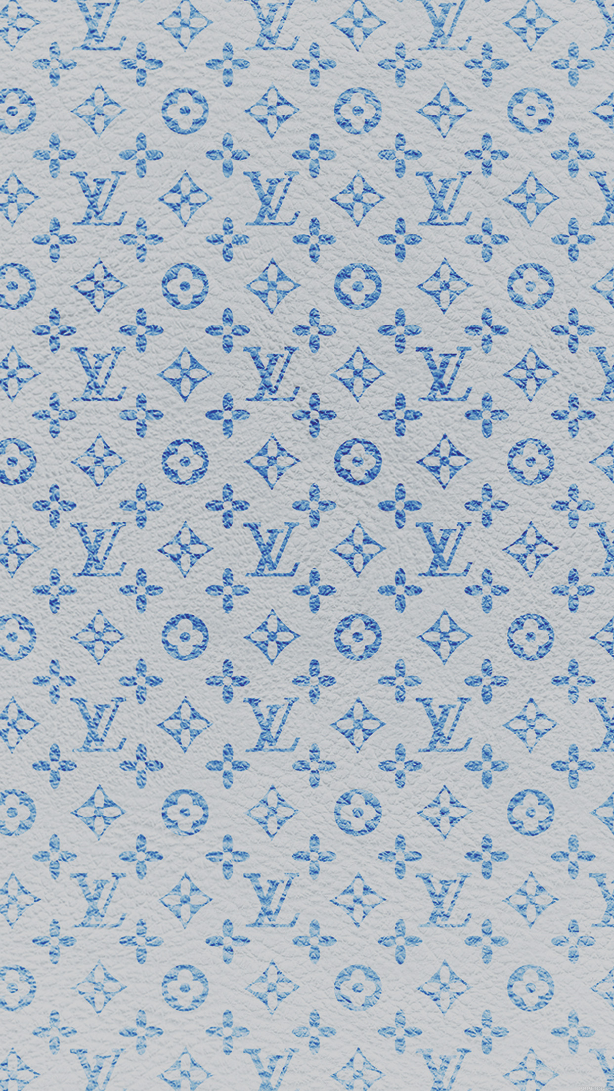 Vf21 Louis Vuitton Blue Pattern Art Papers Co