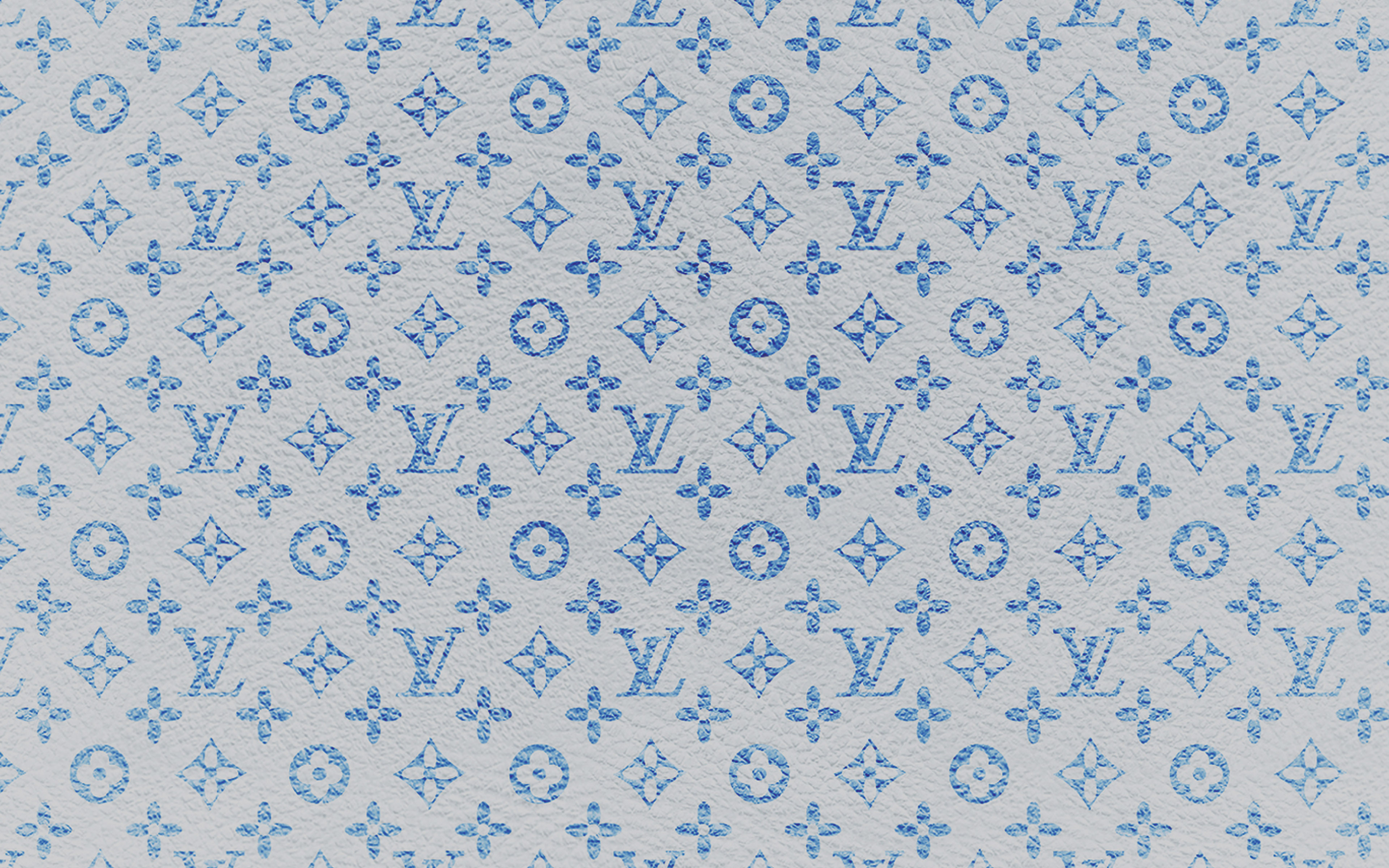 Vf21 Louis Vuitton Blue Pattern Art Papers Co