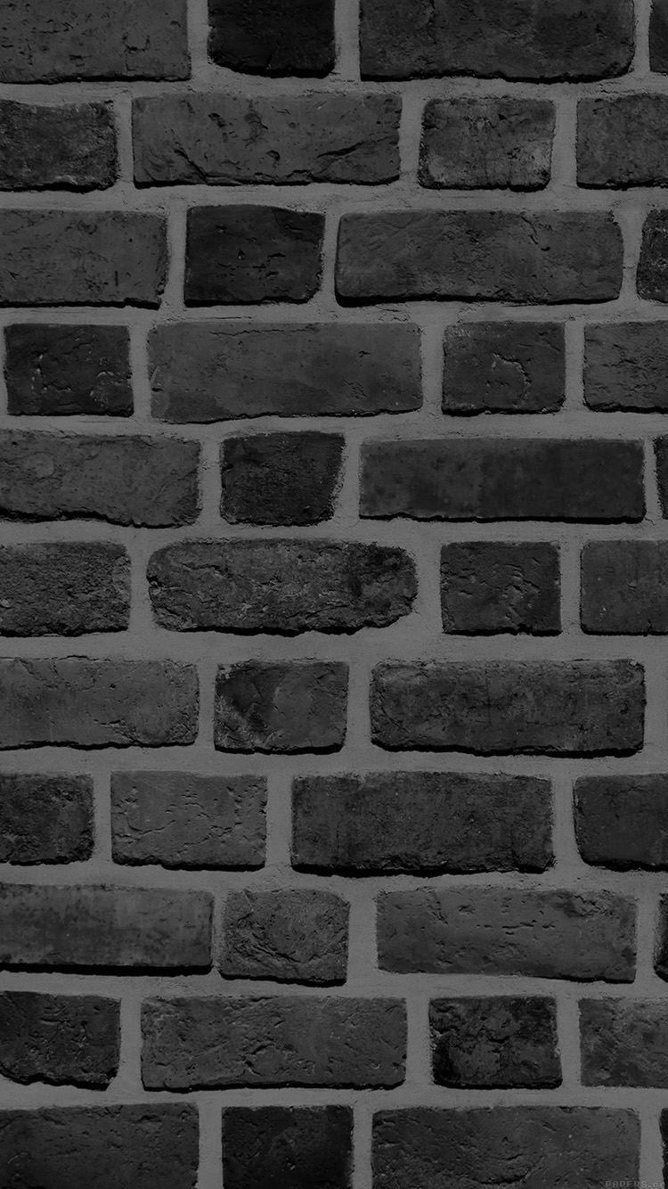iPhone7papers.com-Apple-iPhone7-iphone7plus-wallpaper-vf57-brick-texture-wall-bw-black-nature-pattern