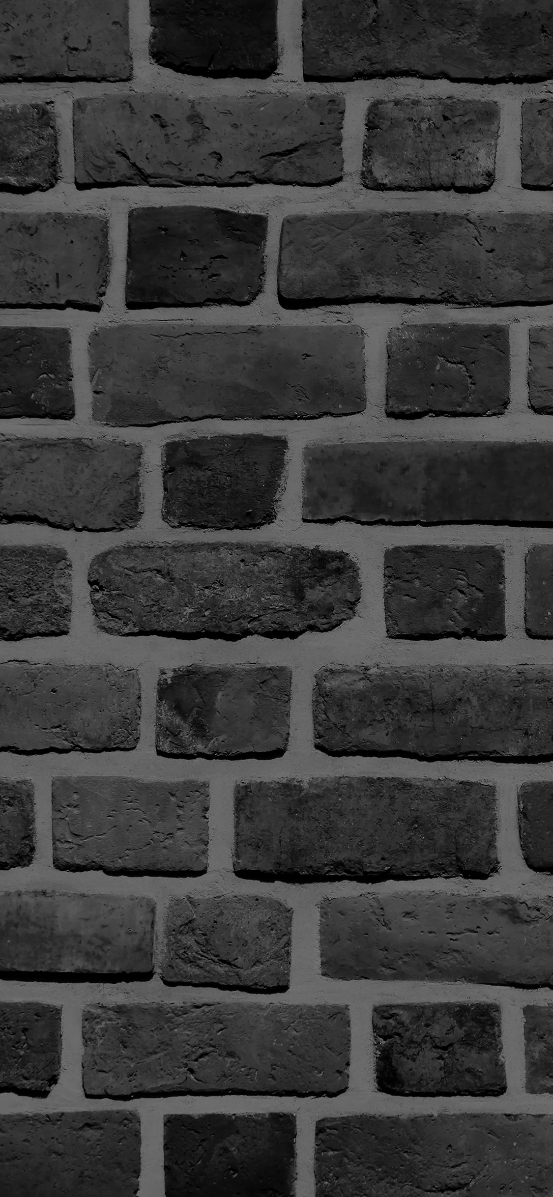iPhoneXpapers.com-Apple-iPhone-wallpaper-vf57-brick-texture-wall-bw-black-nature-pattern