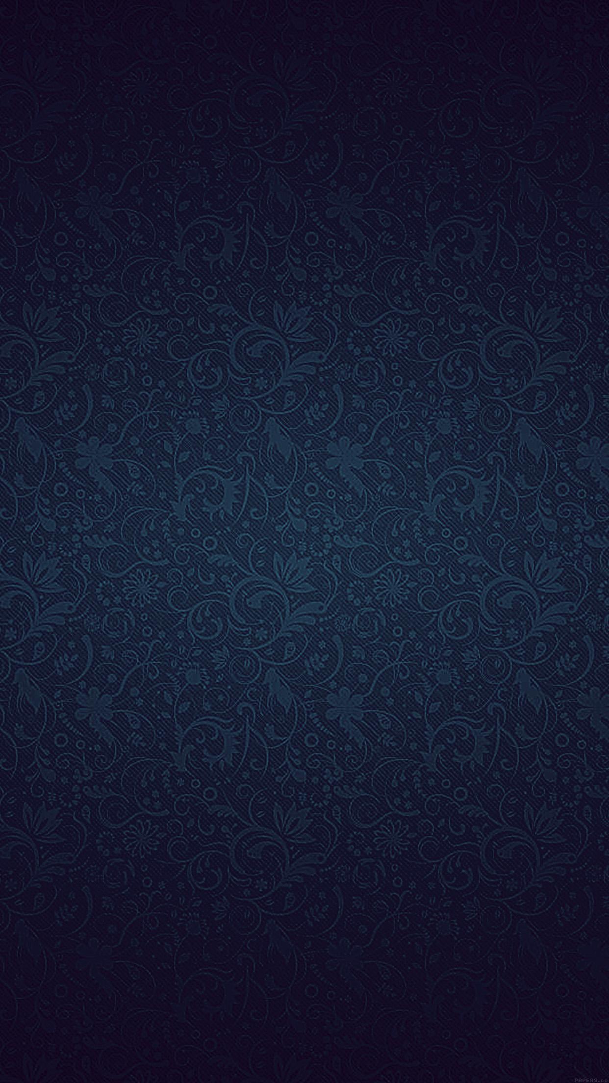 Vf81 Dark Blue Ornament Texture Pattern