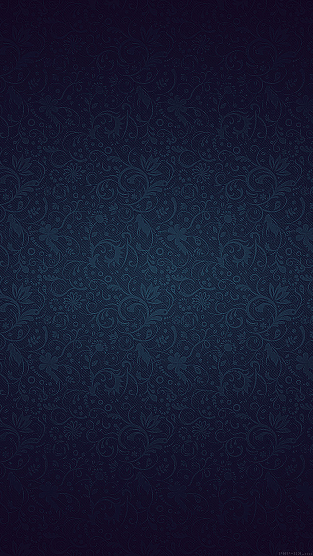 I Love Papers Vf81 Dark Blue Ornament Texture Pattern