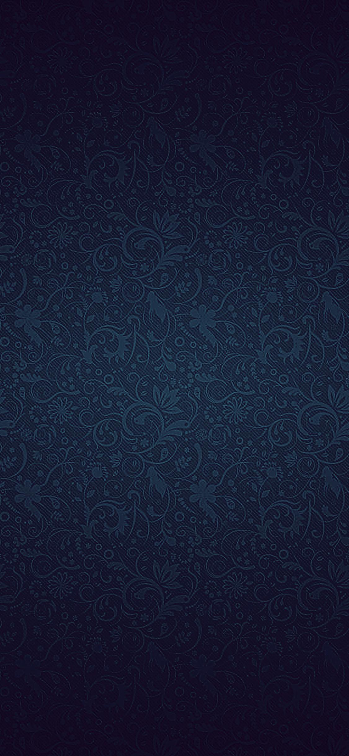 Iphonexpapers Vf81 Dark Blue Ornament Texture Pattern