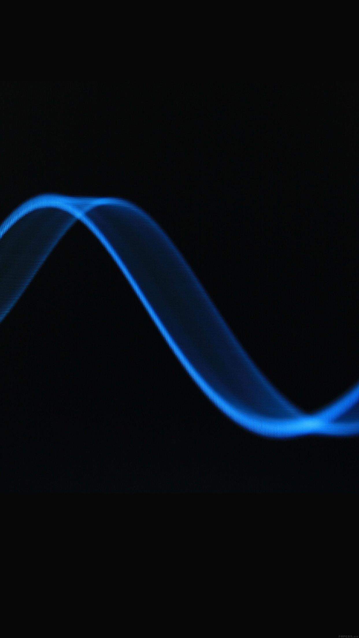 Iphonepapers Vf93 Wave Dark Blue Pattern